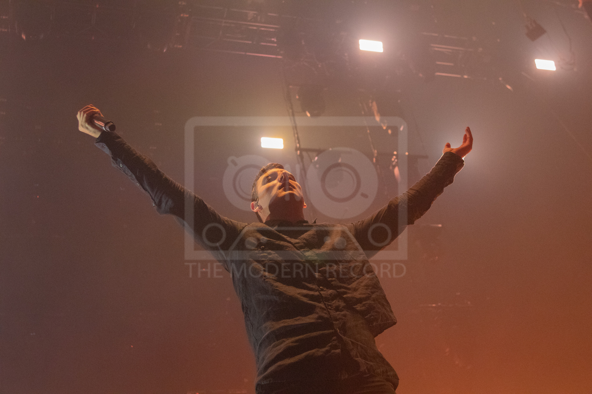 PARKWAY DRIVE PERFORMING AT MANCHESTER'S O2 APOLLO - 29.01.2019  PICTURE BY: WILL GORMAN PHOTOGRAPHY