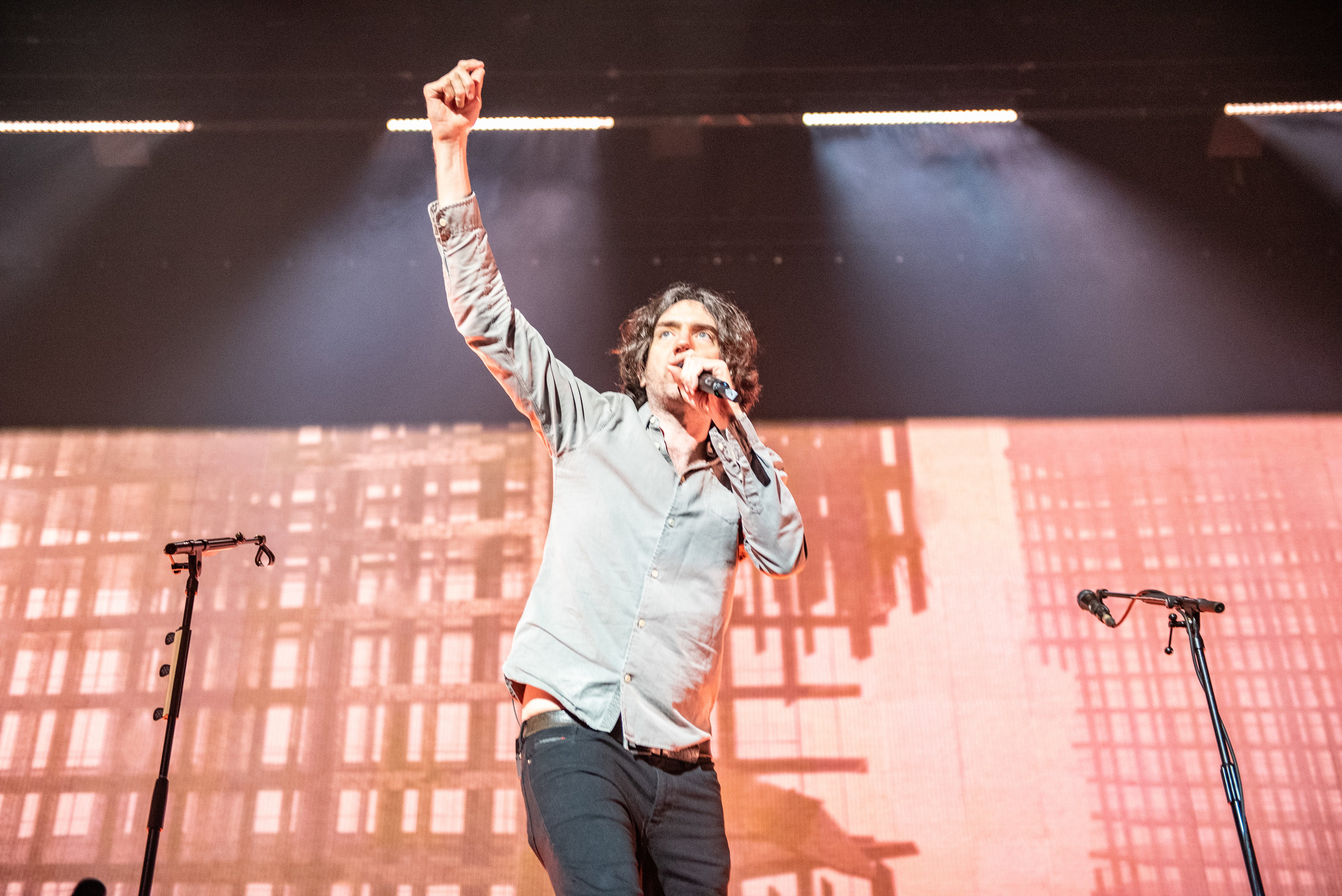 SNOW PATROL PERFORMING AT GLASGOW'S SSE HYDRO - 31.01.2019  PICTURE BY: CALUM BUCHAN PHOTOGRAPHY