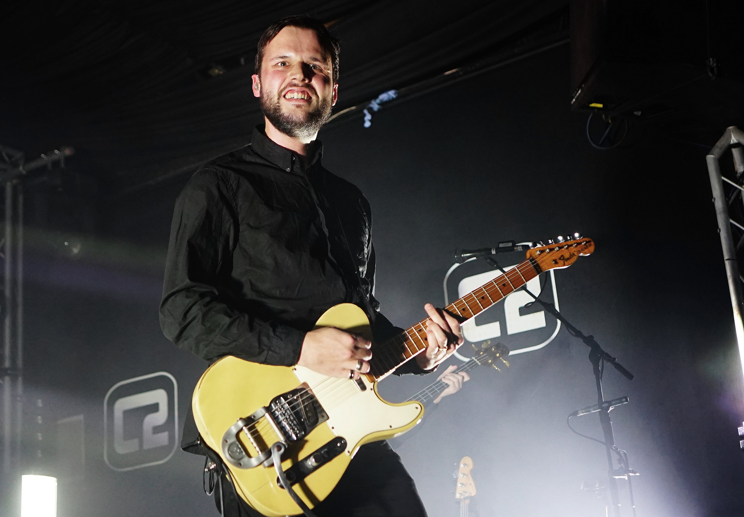 WHITE LIES PERFORMING AT BRIGHTON'S CONCORDE 2 - 31.01.2019  PICTURE BY: MICHAEL HUNDERTMARK PHOTOGRAPHY