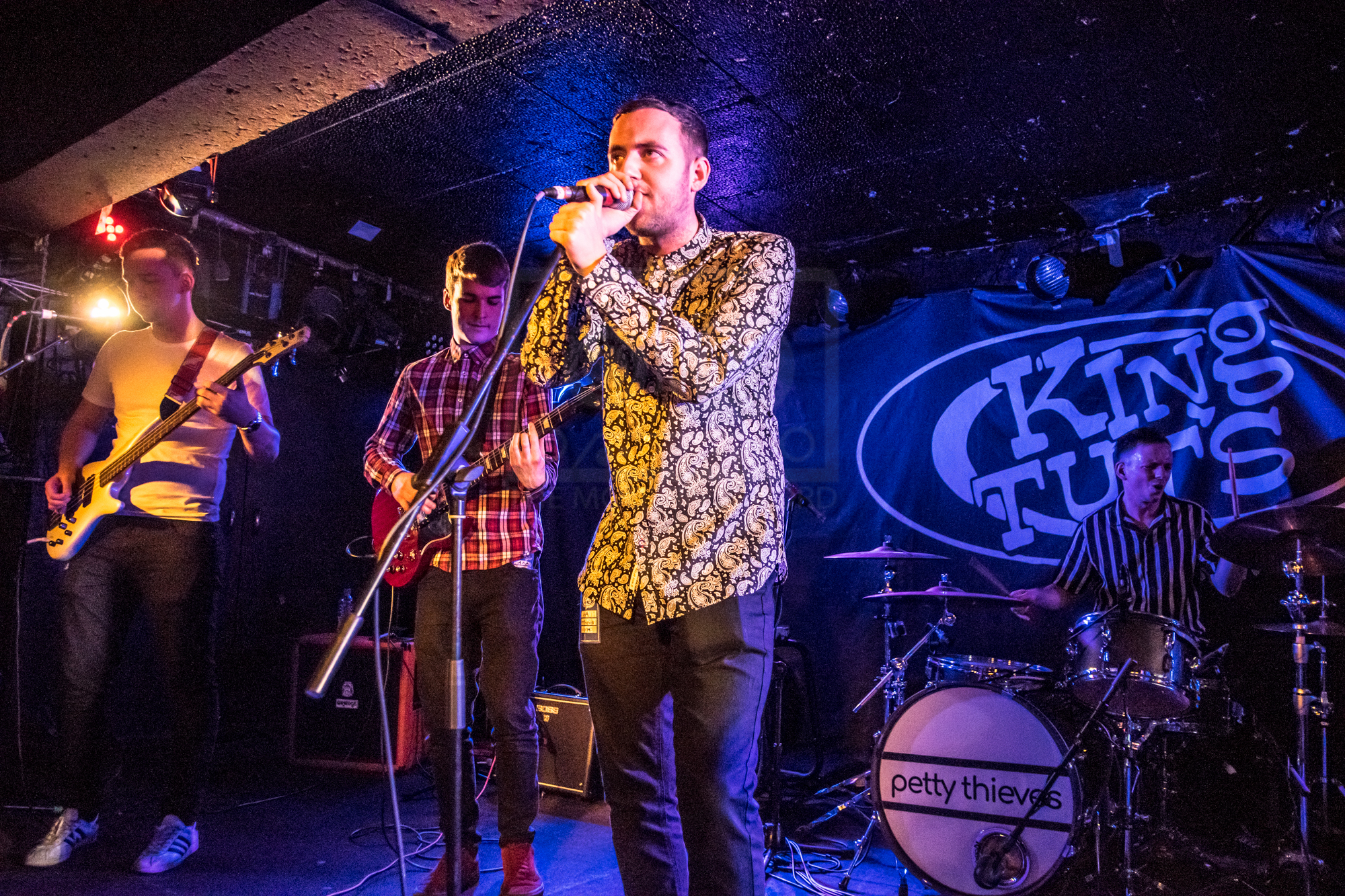 PETTY THIEVES PERFORMING AT GLASGOW'S KING TUT'S WAH WAH HUT - 01.03.2019  PICTURE BY: STEPHEN WILSON PHOTOGRAPHY