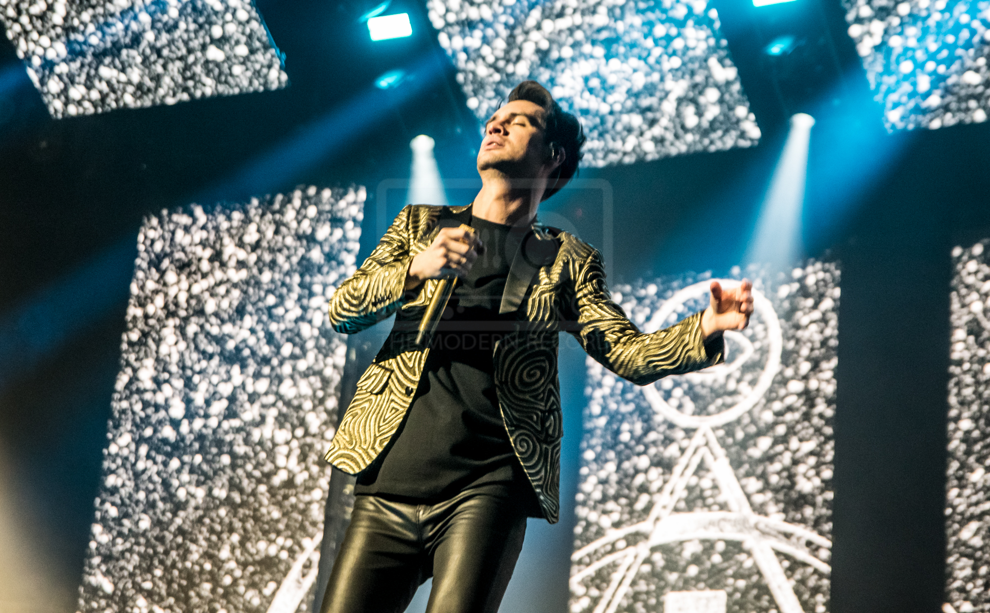 PANIC! AT THE DISCO KICKING OFF THEIR UK ARENA TOUR AT GLASGOW'S SSE HYDRO - 24.03.2019  PICTURE BY: STEPHEN WILSON PHOTOGRAPHY