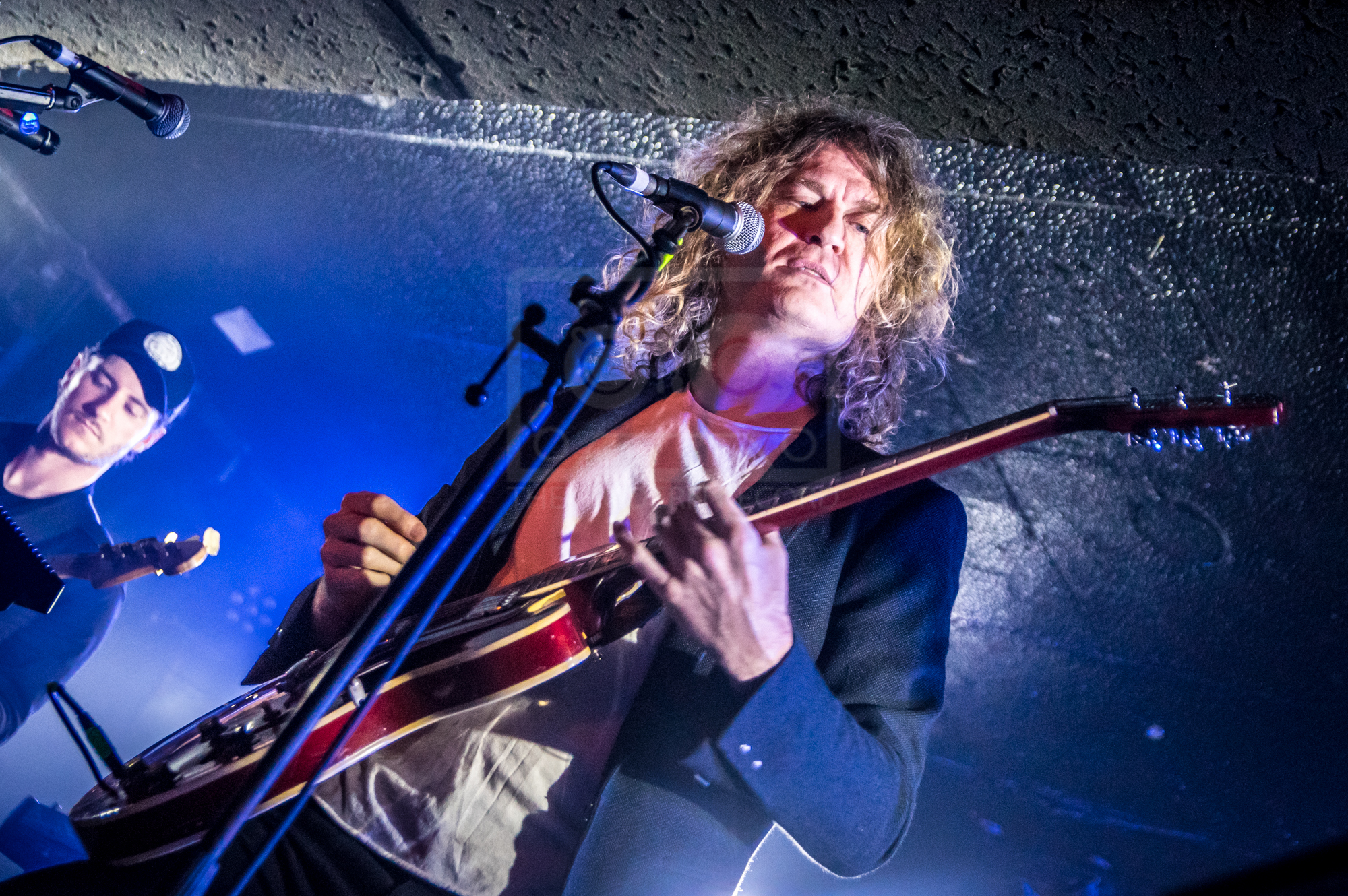 DAVE KEUNING PERFORMING AT GLASGOW'S KING TUT'S WAH WAH HUT - 26.03.2019  PICTURE BY: STEPHEN WILSON PHOTOGRAPHY