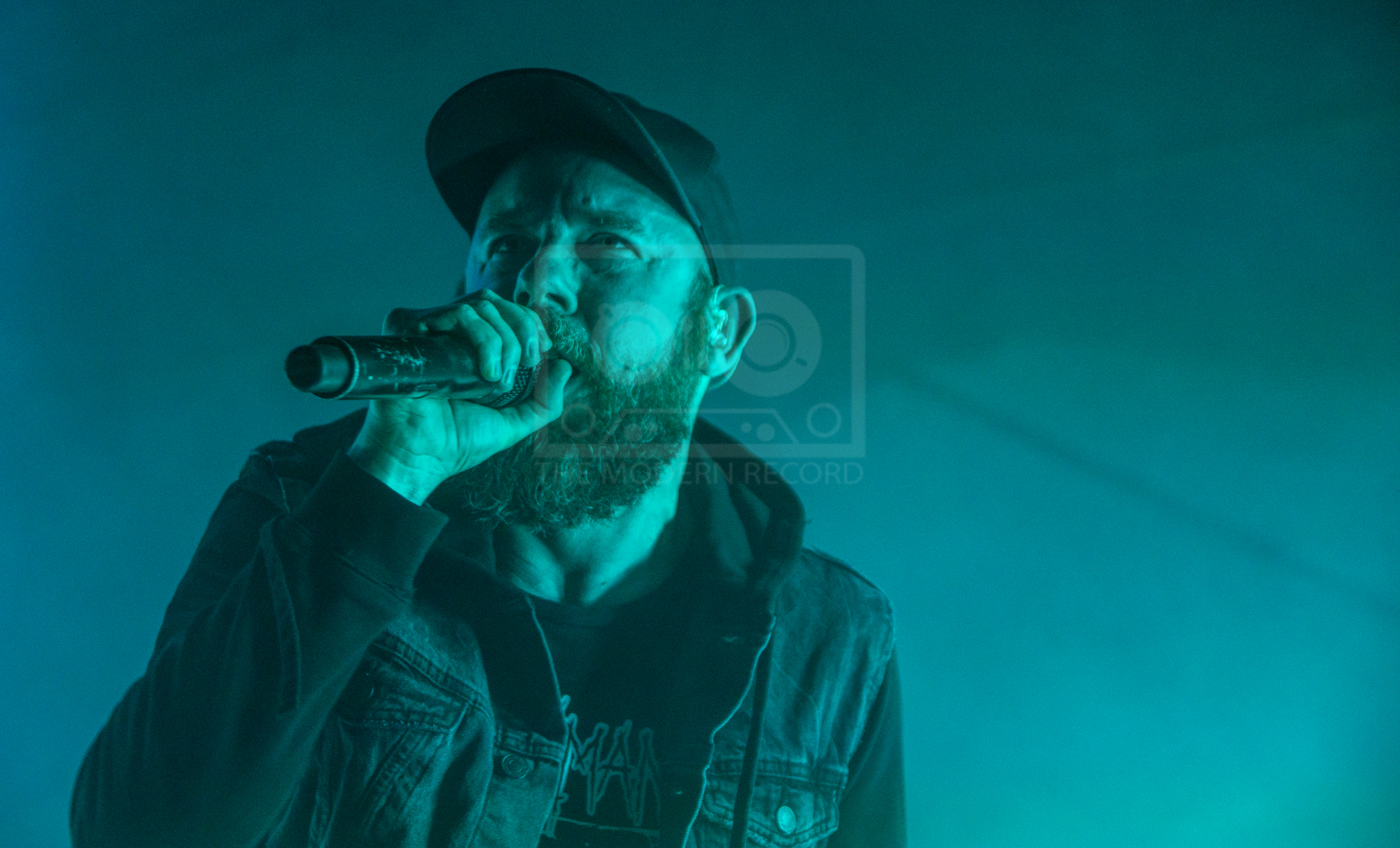 IN FLAMES PERFORMING AT GLASGOW'S SWG3: GALVANIZER'S - 03.04.2019  PICTURE BY: STEPHEN WILSON PHOTOGRAPHY