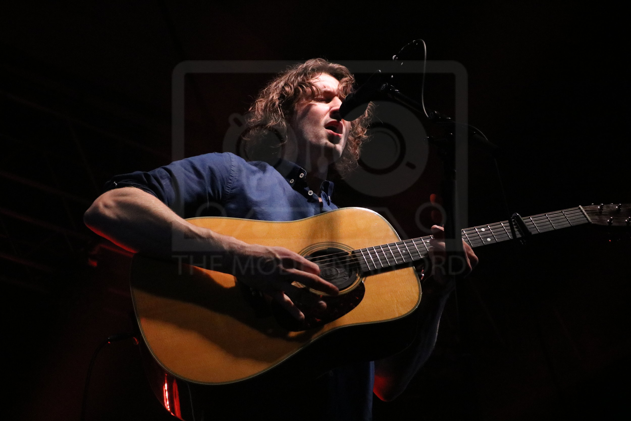 DEAN LEWIS PERFORMING GLASGOW'S SWG3 - 18.04.2019  PICTURE BY: COREY MCKAY PHOTOGRAPHY