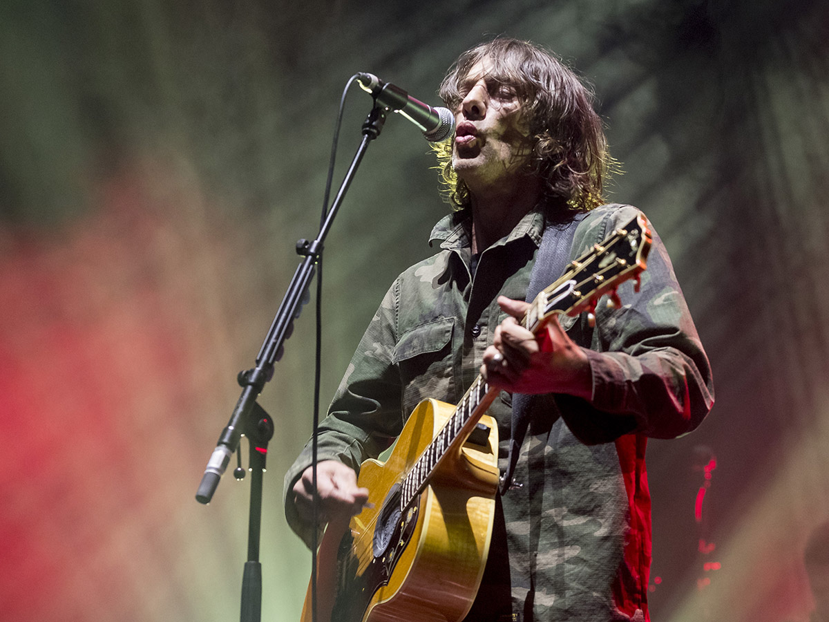 RICHARD ASHCROFT PERFORMING AT EDINBURGH'S USHER HALL - 23.04.2019  PICTURE BY: ALAN RENNIE PHOTOGRAPHY