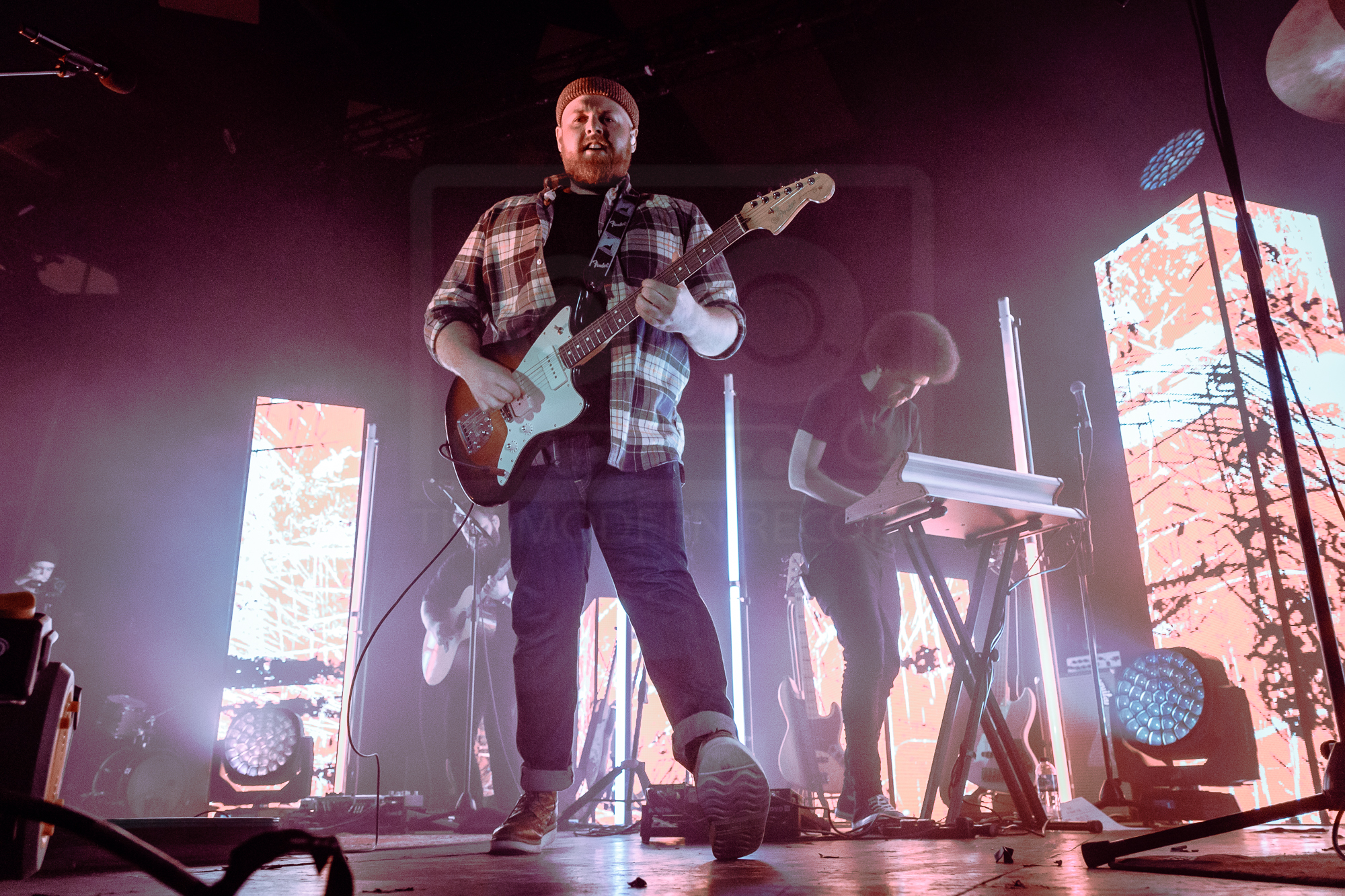 TOM WALKER PERFORMING AT GLASGOW'S BARROWLAND BALLROOM - 26.04.2019  PICTURE BY: KENDALL WILSON PHOTOGRAPHY
