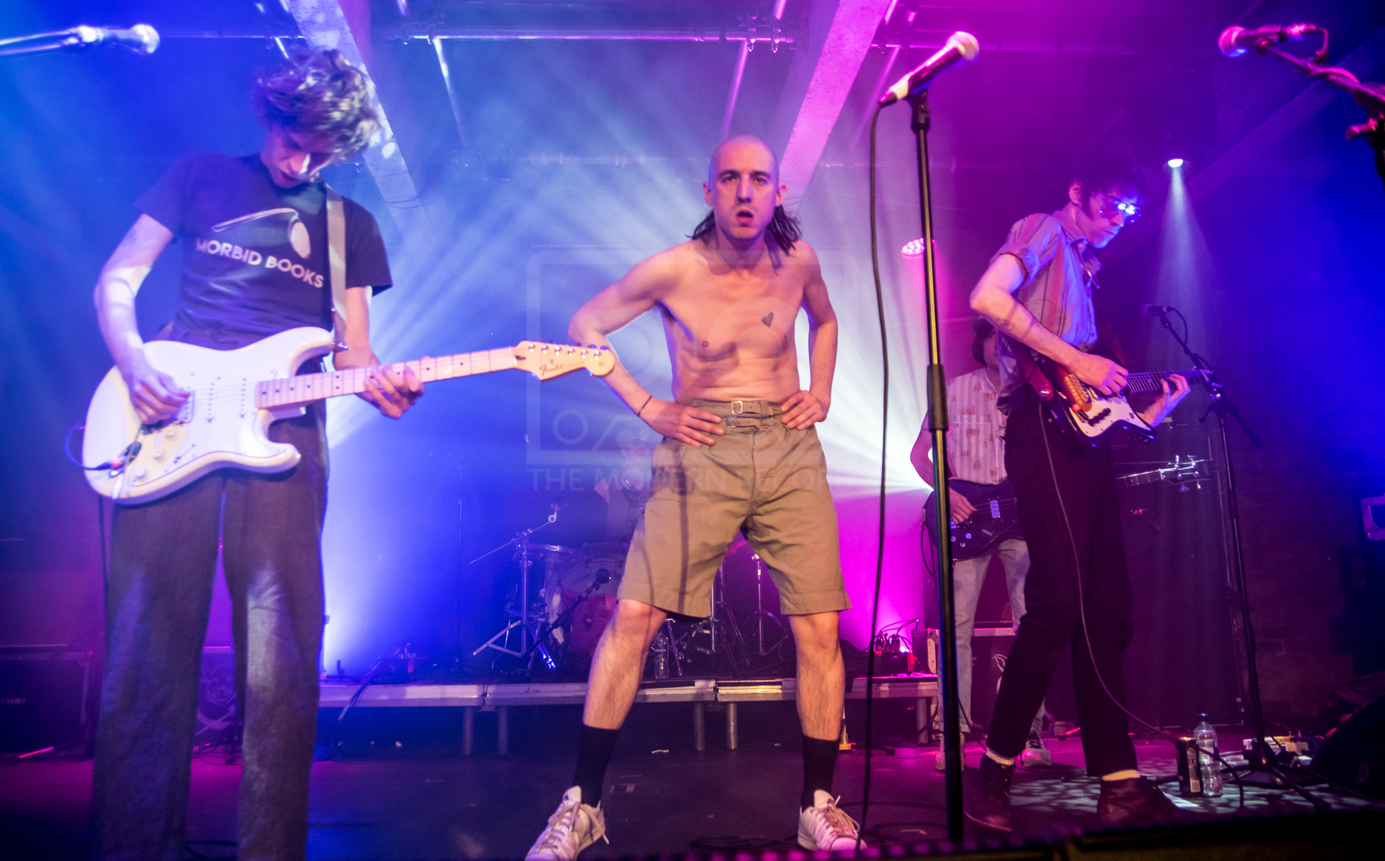 FAT WHITE FAMILY PERFORMING AT GLASGOW'S SWG3 - 07.05.2019  PICTURE BY: STEPHEN WILSON PHOTOGRAPHY