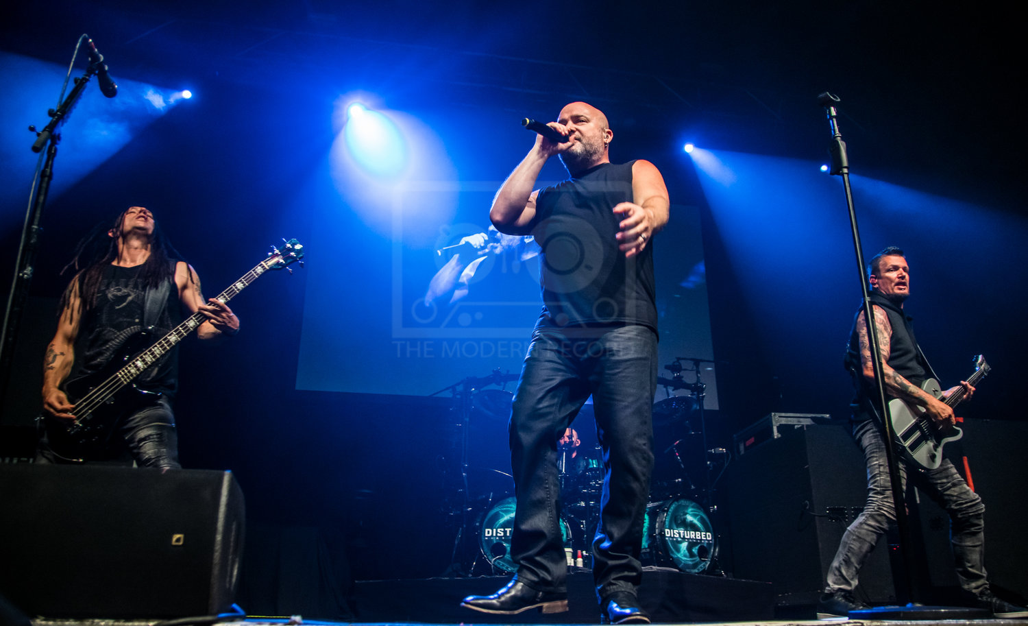 DISTURBED PERFORMING AT GLASGOW'S O2 ACADEMY - 13.05.2019  PICTURE BY: STEPHEN WILSON PHOTOGRAPHY
