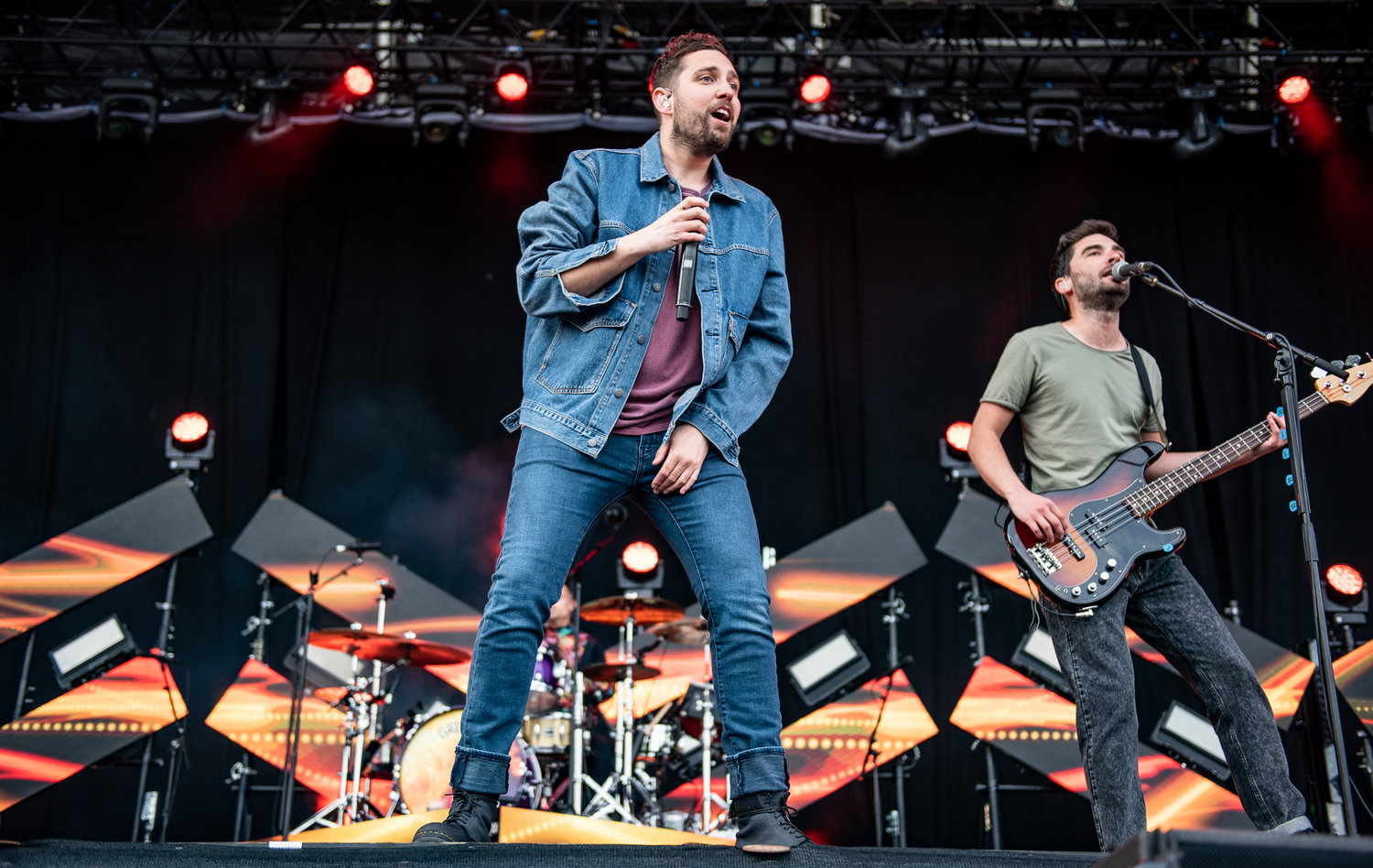 YOU ME AT SIX PERFORMING ON THE MAIN STAGE ON FIRST DAY OF THIS IS TOMORROW 2019 IN NEWCASTLE PICTURE BY: CALUM BUCHAN PHOTOGRAPHY
