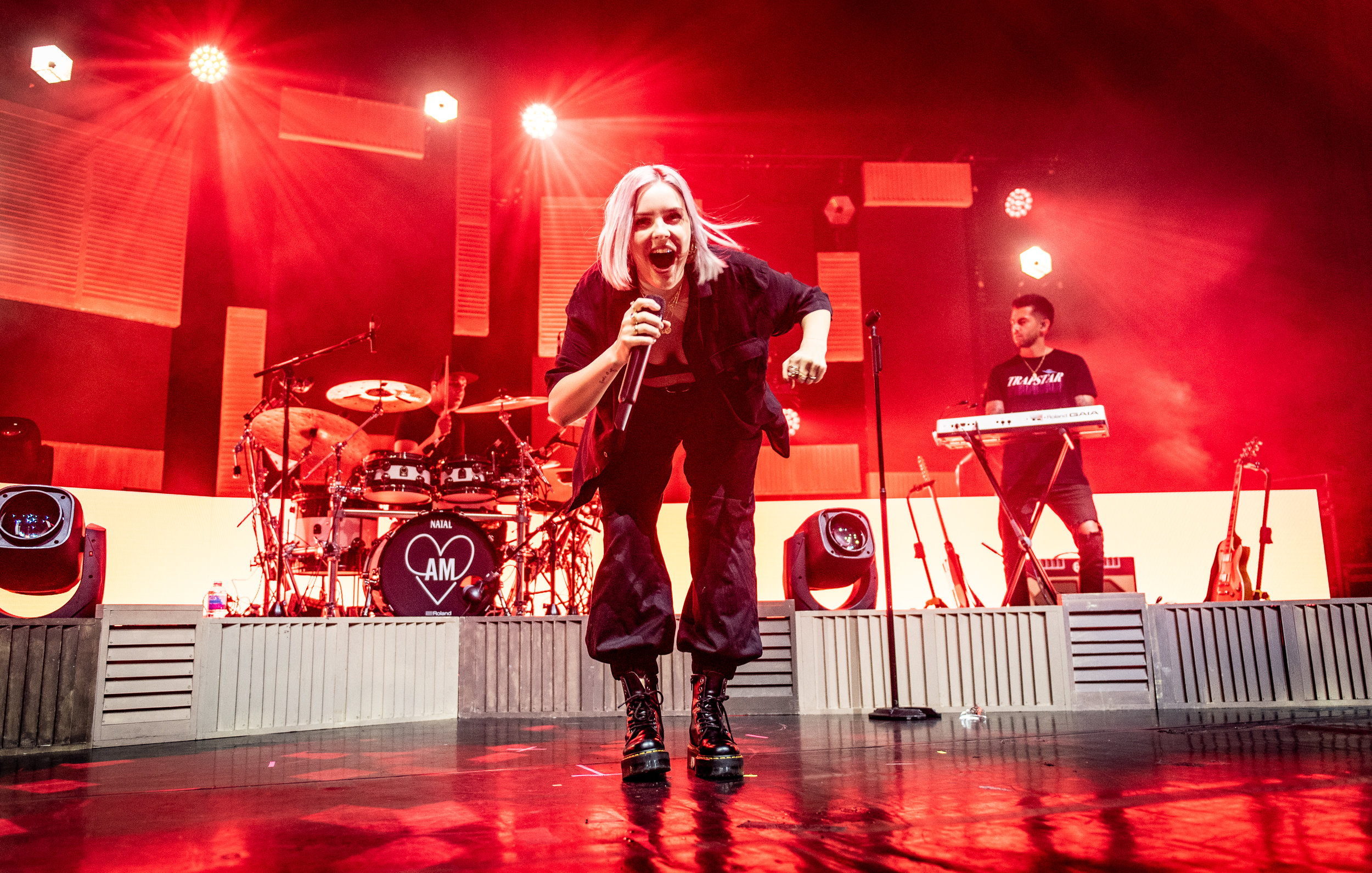 ANNE-MARIE PERFORMING AT EDINBURGH'S USHER HALL - 29.05.2019  PICTURE BY: CALUM BUCHAN PHOTOGRAPHY