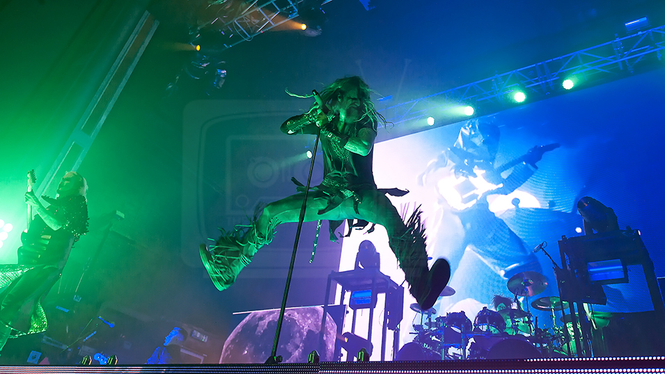 ROB ZOMBIE PERFORMING AT GLASGOW'S O2 ACADEMY - 13.06.2019  PICTURE BY: STUART WESTWOOD PHOTOGRAPHY