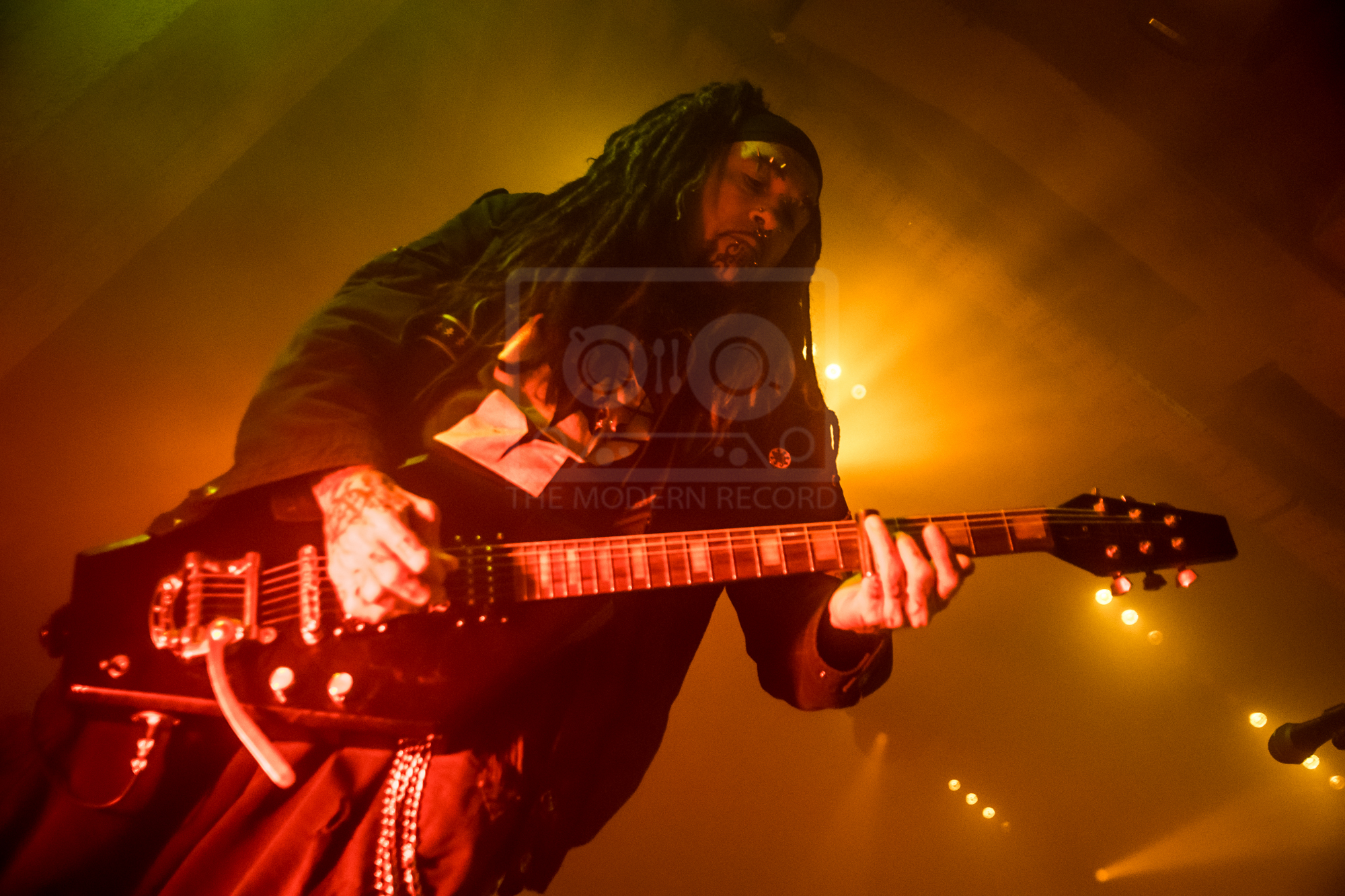 MINISTRY PERFORMING AT GLASGOW'S SWG3 - 03.07.2019  PICTURE BY: STEPHEN WILSON PHOTOGRAPHY