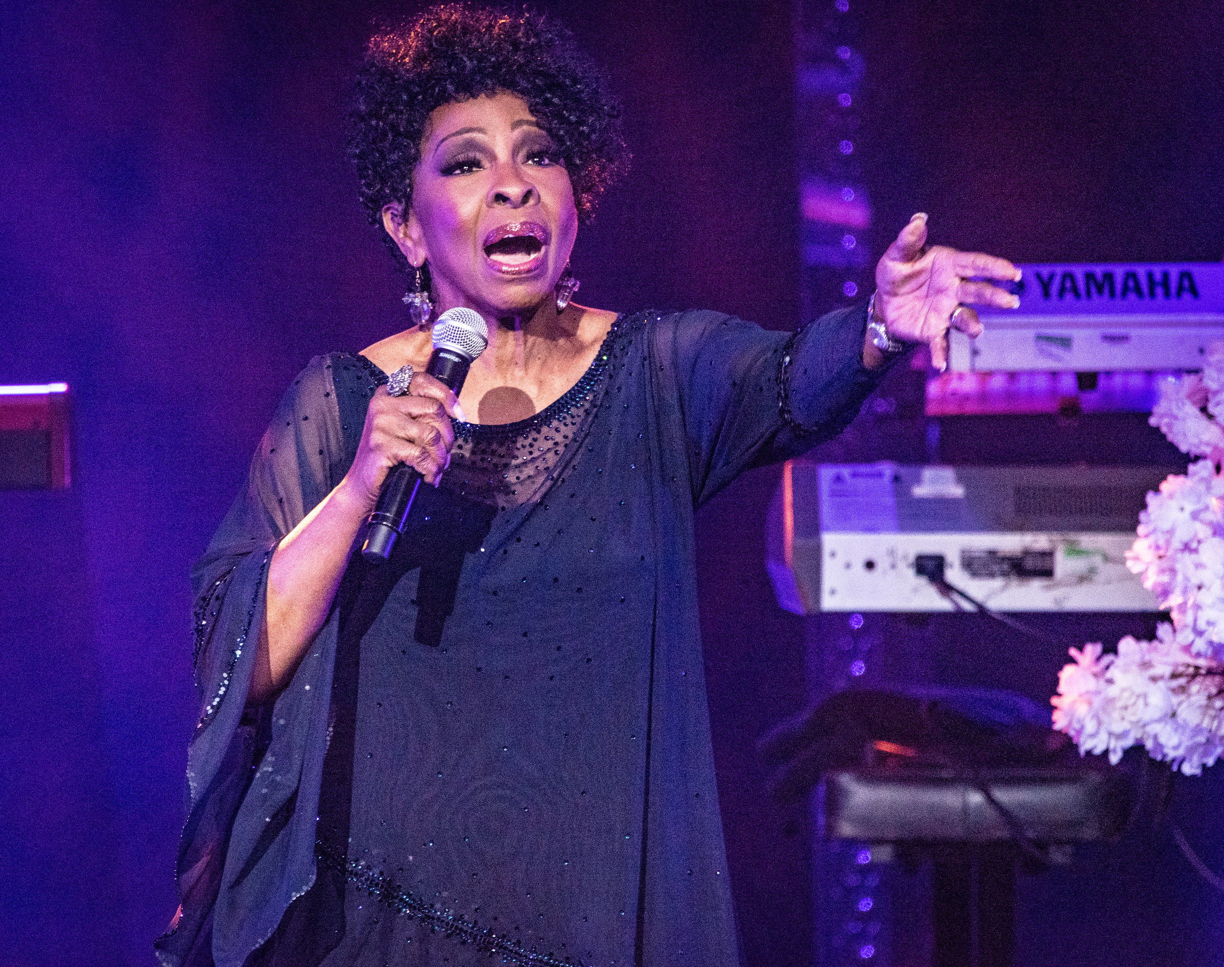 GLADYS KNIGHT PERFORMING AT GLASGOW'S ROYAL CONCERT HALL - 01.07.2019  PICTURE BY: CALUM BUCHAN PHOTOGRAPHY