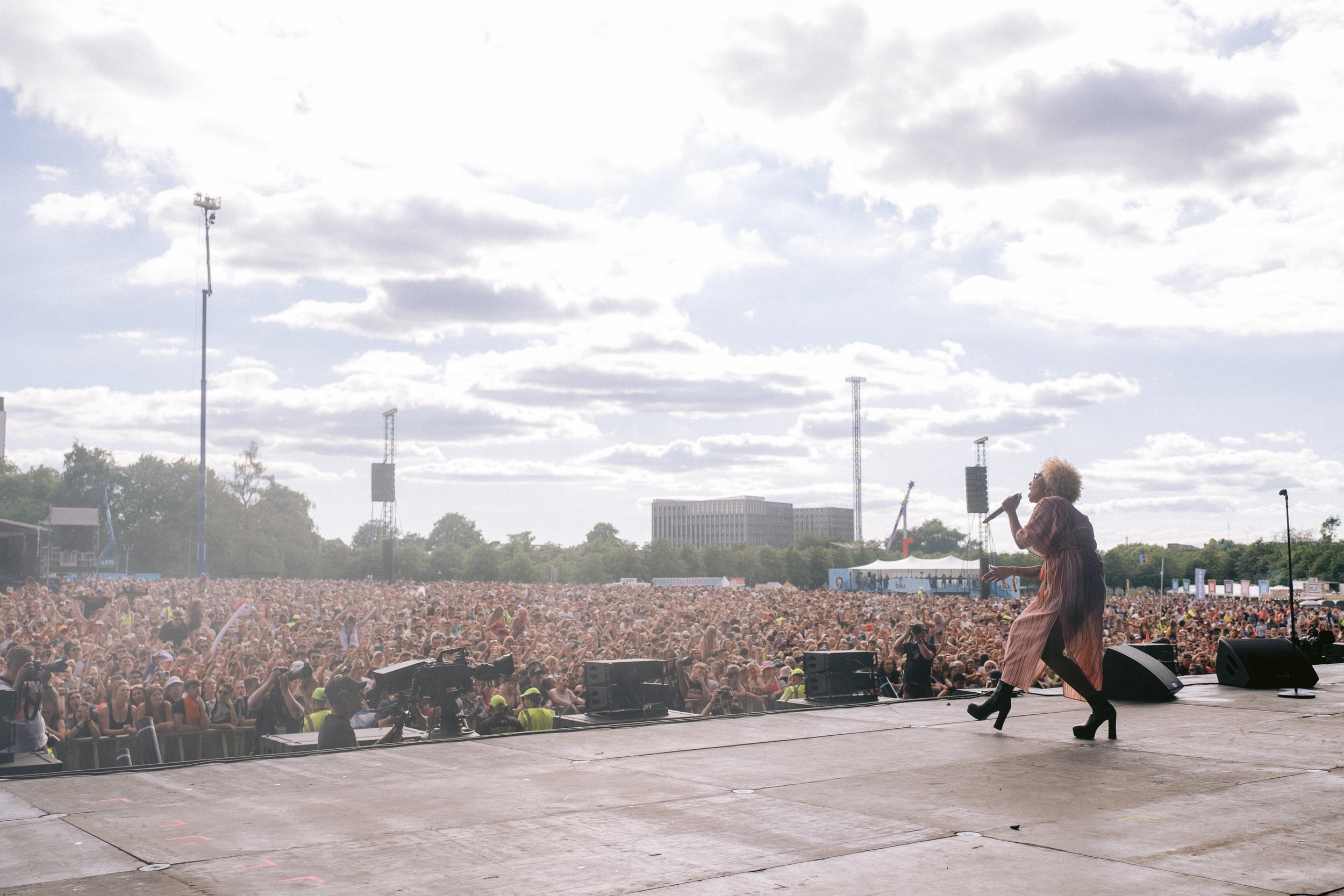 EMELI SANDE PERFORMING AT TRNSMT FESTIVAL 2019  PICTURE BY: EUAN ROBERTSON