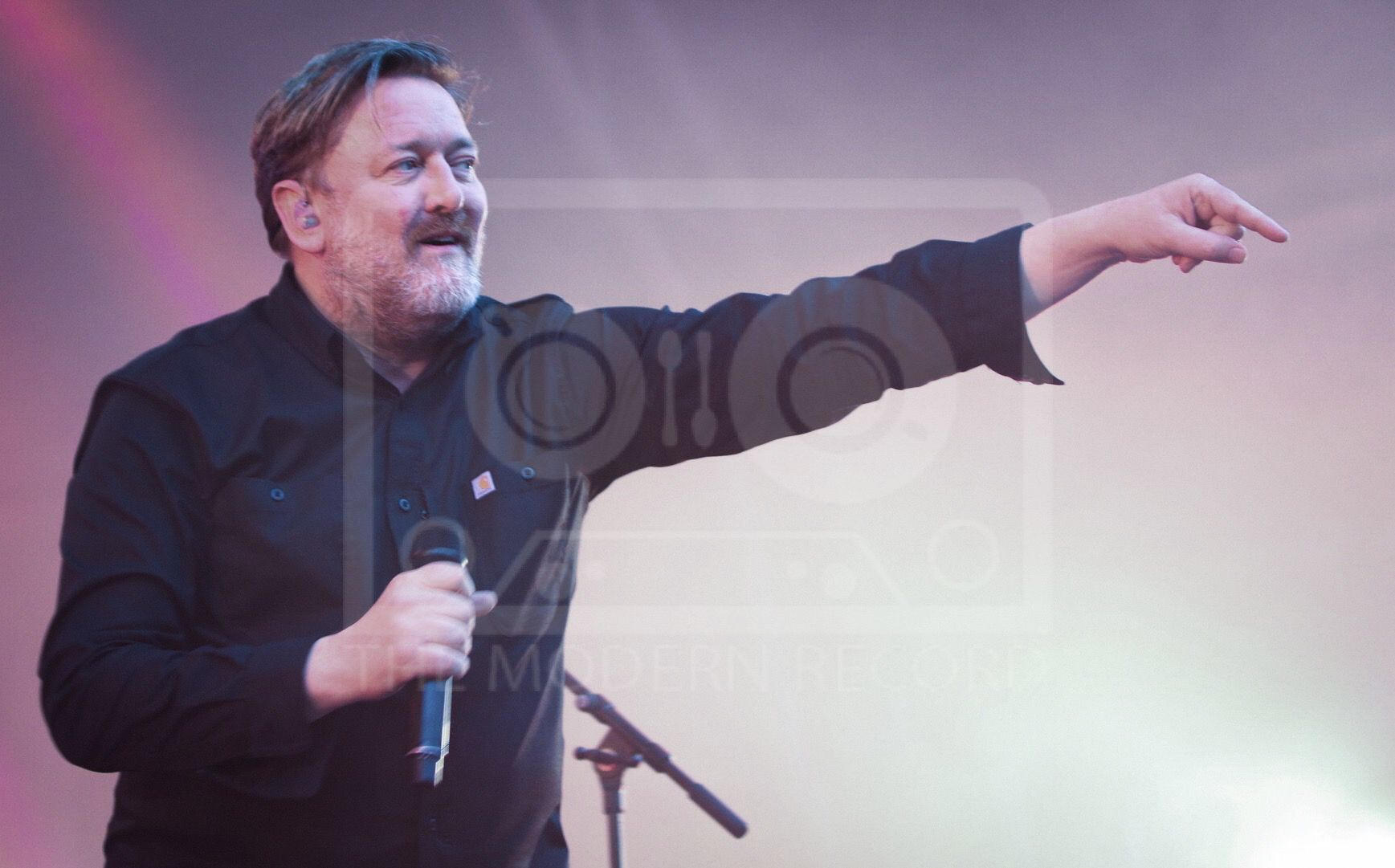 ELBOW PERFORMING AT MANCHESTER'S CASTLEFIELD BOWL AS PART OF SOUNDS OF THE CITY 2019  PICTURE BY: BETHANY MORISON