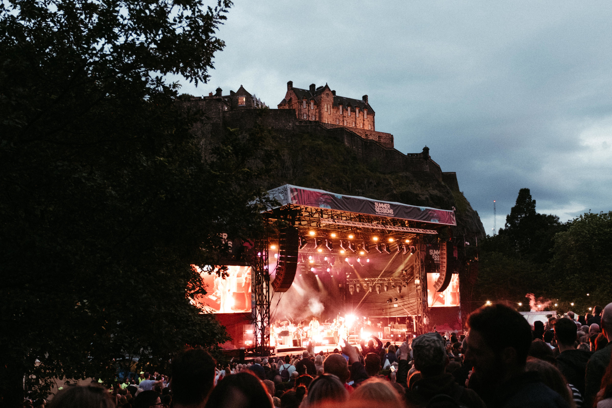 FLORENCE + THE MACHINE OPENING EDINBURGH SUMMER SESSIONS 2019  PICTURE BY: EUAN ROBERTSON