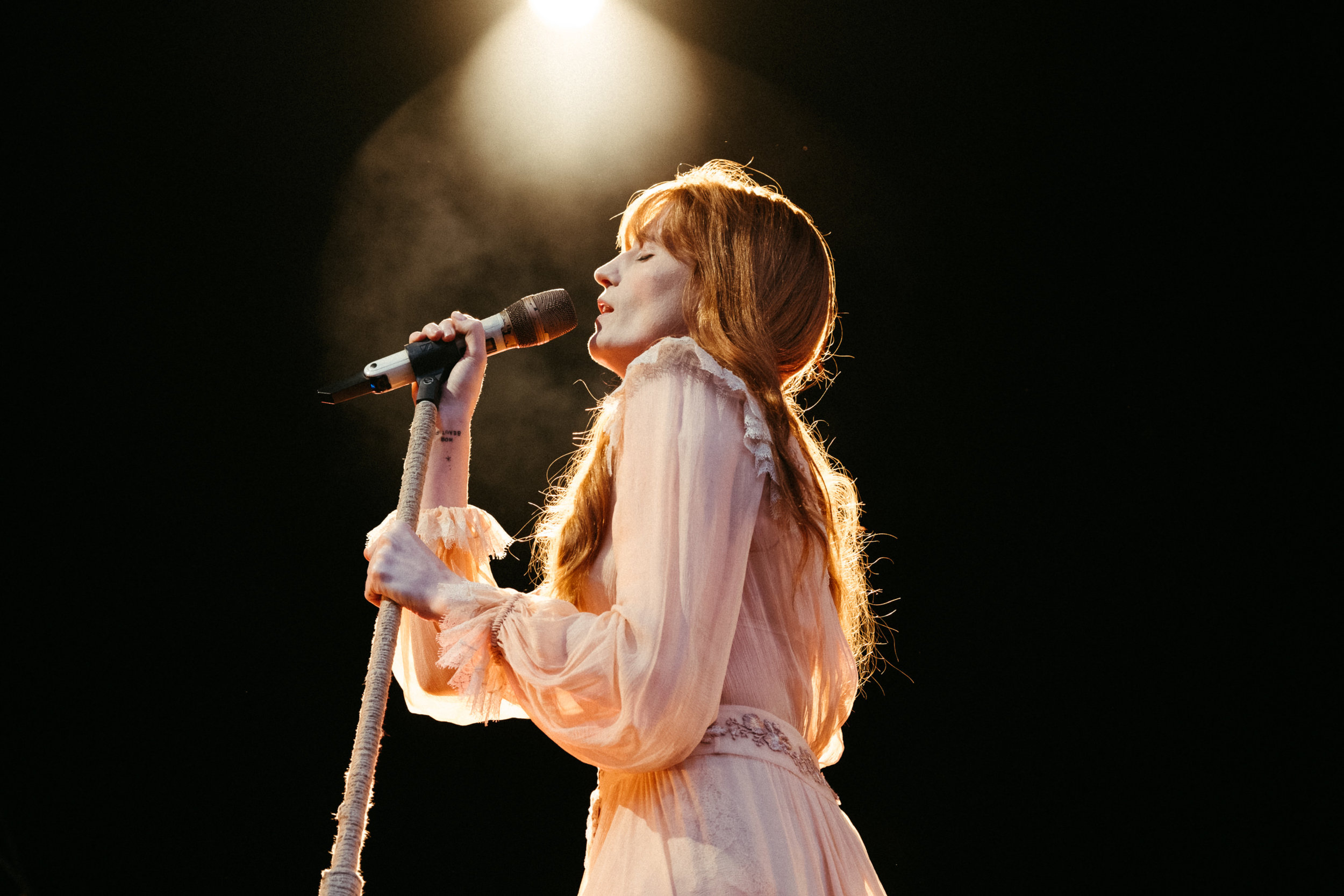FLORENCE + THE MACHINE PERFORMING AT EDINBURGH SUMMER SESSIONS 2019  PICTURE BY: EUAN ROBERTSON