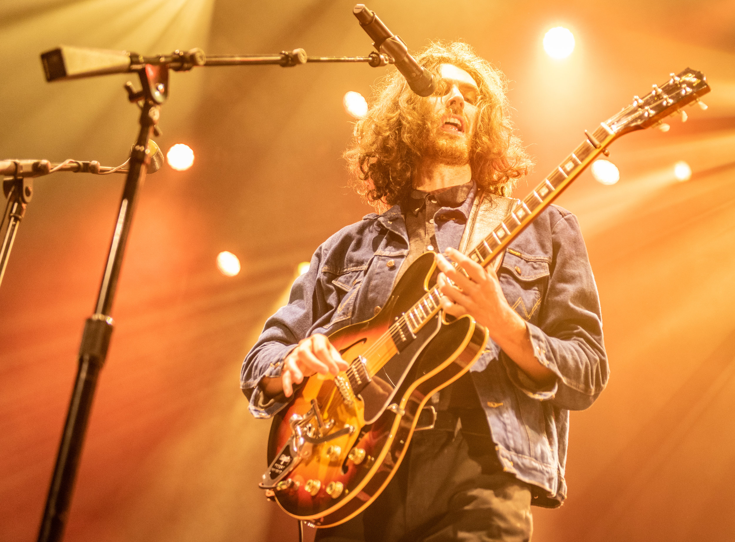 HOZIER PERFORMING AT EDINBURGH'S USHER HALL - 25.09.2019  PICTURE BY: | CALUM BUCHAN PHOTOGRAPHY