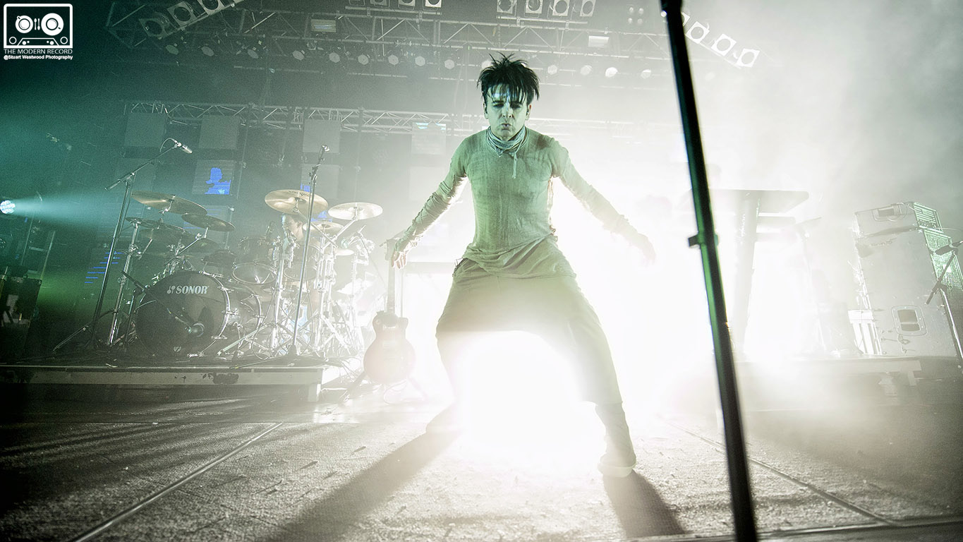 GARY NUMAN PERFORMING IN GLASGOW  PICTURE BY: | STUART WESTWOOD PHOTOGRAPHY
