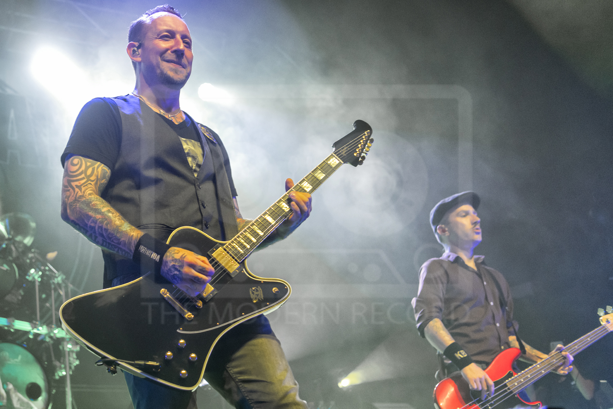VOLBEAT PERFORMING AT GLASGOW'S O2 ACADEMY - 24.09.2019  PICTURE BY: | GAVIN ROSS PHOTOGRAPHY