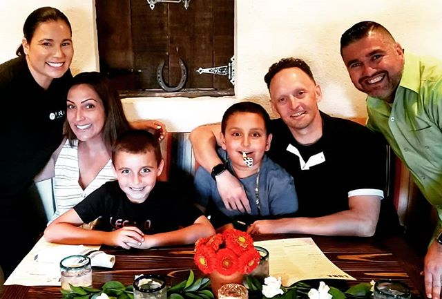Tonight we celebrate the Weimer family 👨👩👦👦 They joined us for their 100th reservation at our restaurant 💯 It is because of supporters like them, and all of you, that we are able to make our 2nd location happen. Stay tuned. Salud! 🍾  #lunamex #eatlocal #drinklocal #supportsmallbusiness #mexicanfood #nixtamal #organic #nongmo #margarita #michelin #bibgourmand