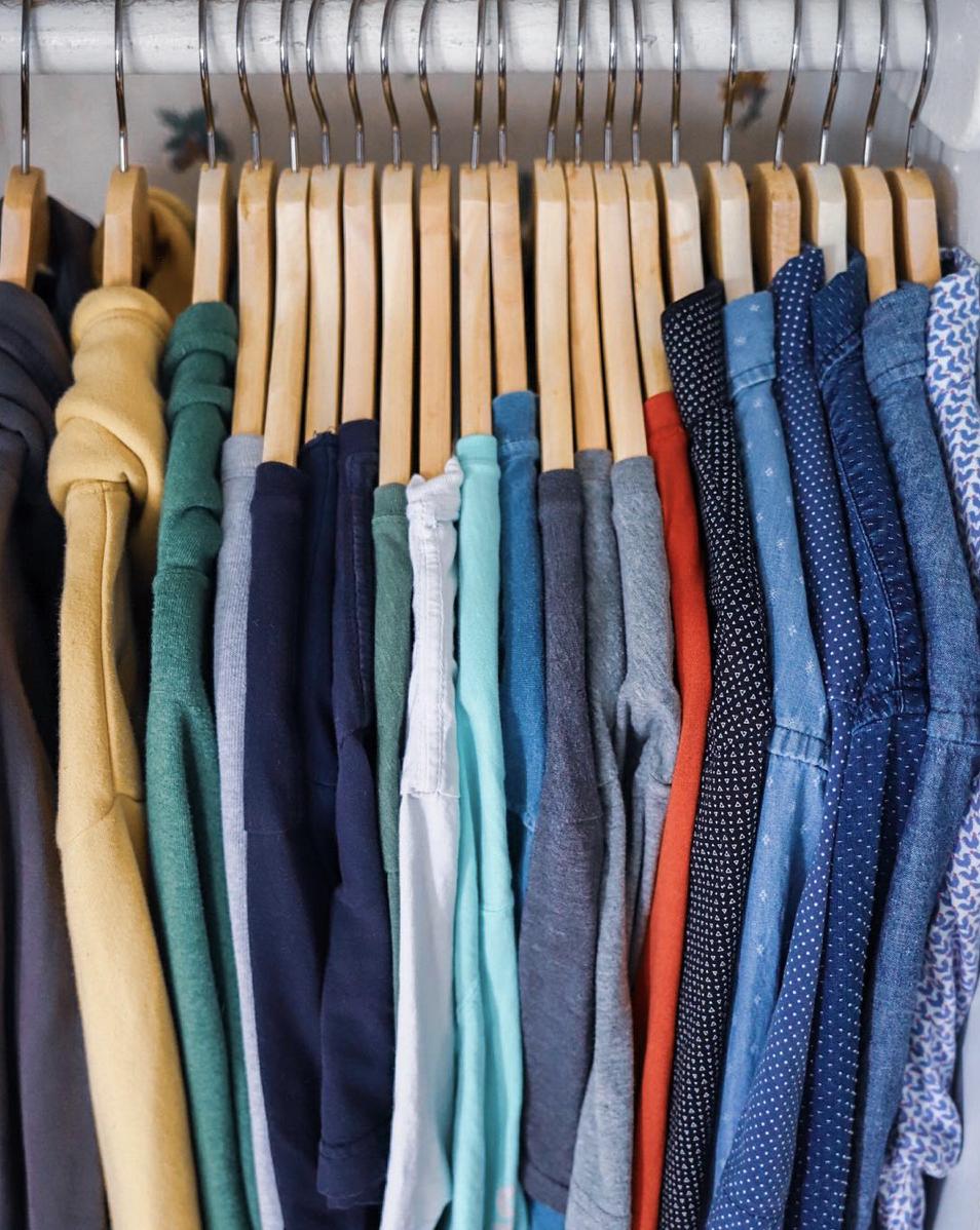 My Closet now- 2019