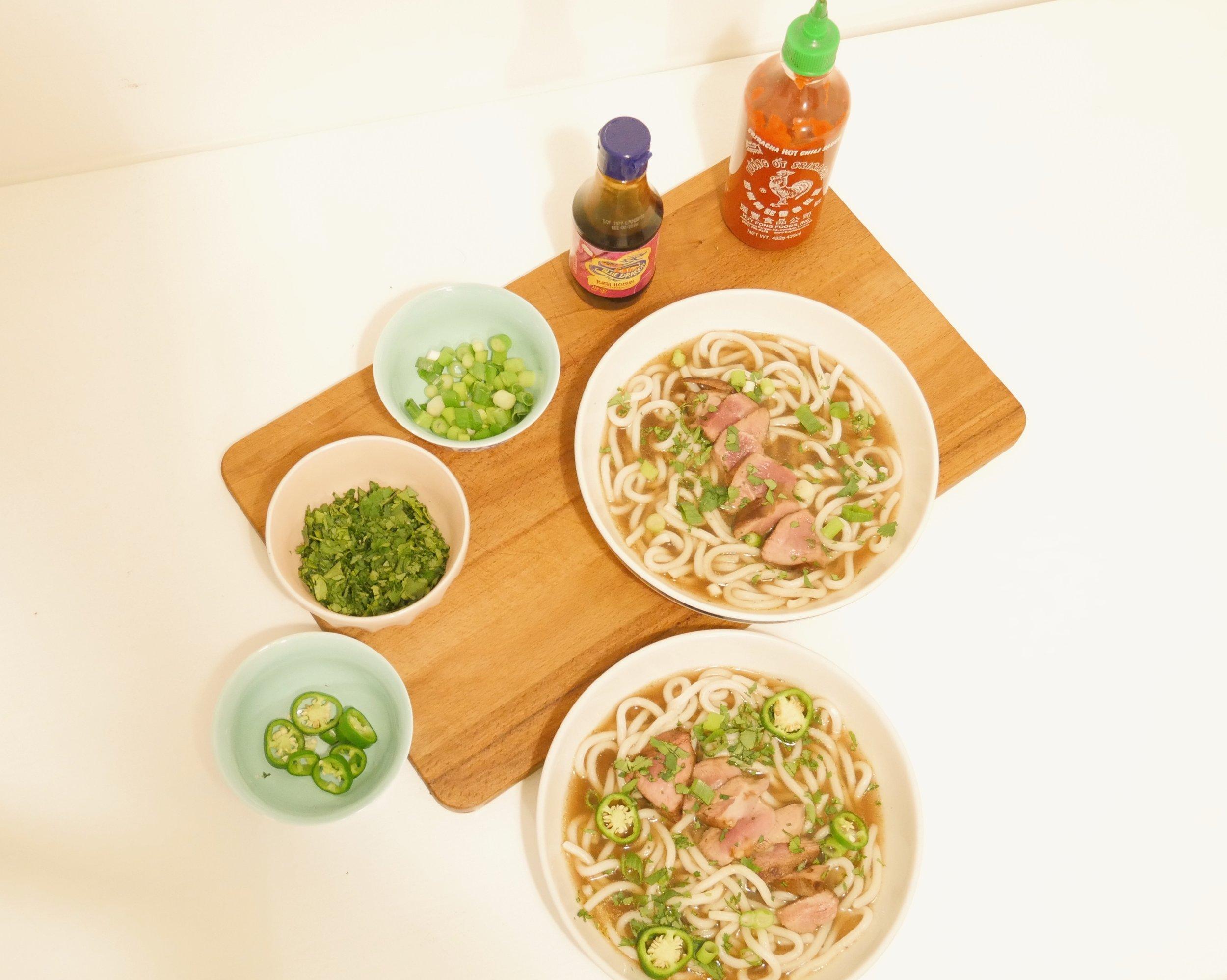 Hot & Sour Duck Soup