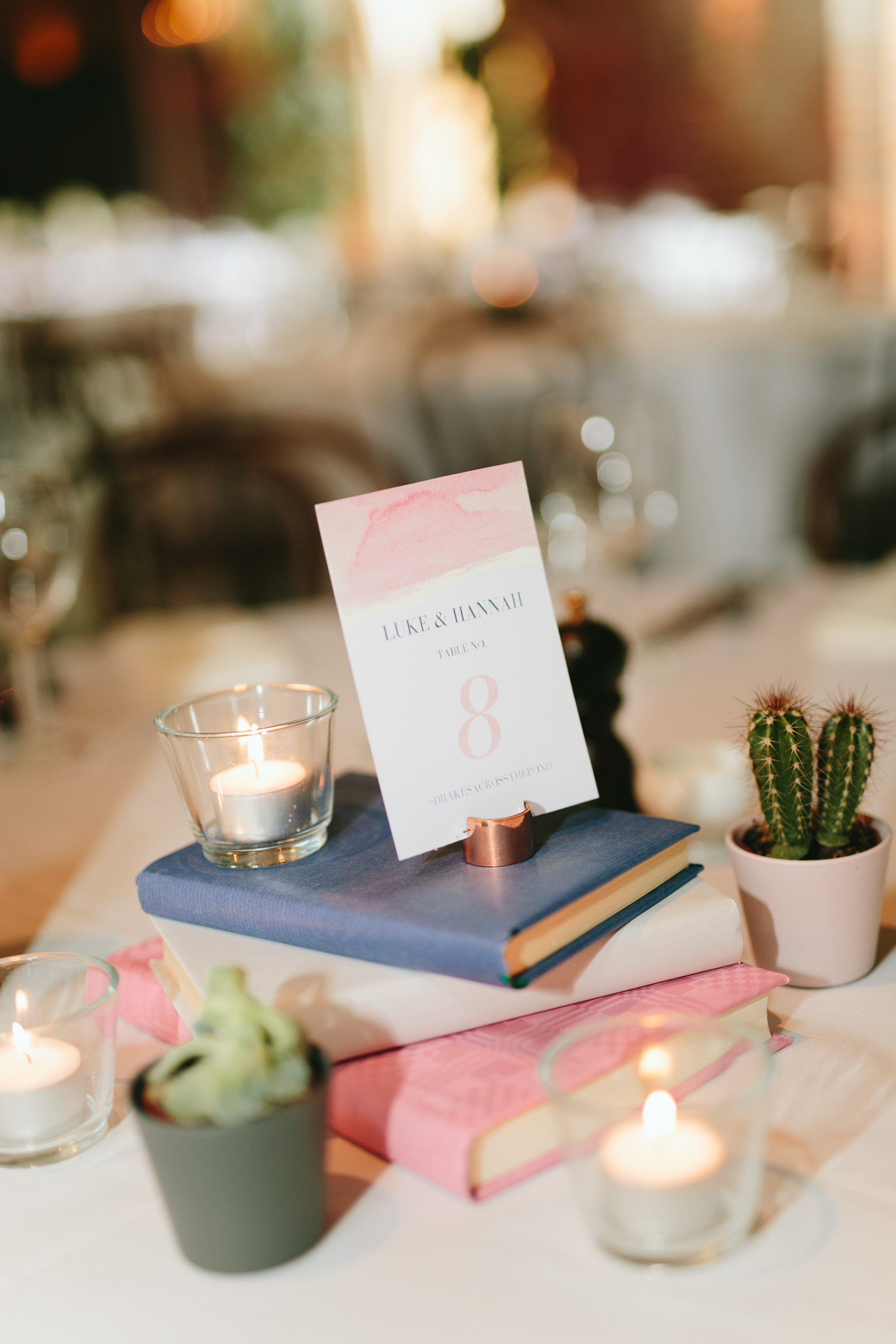 Wedding Decor - Table Numbers
