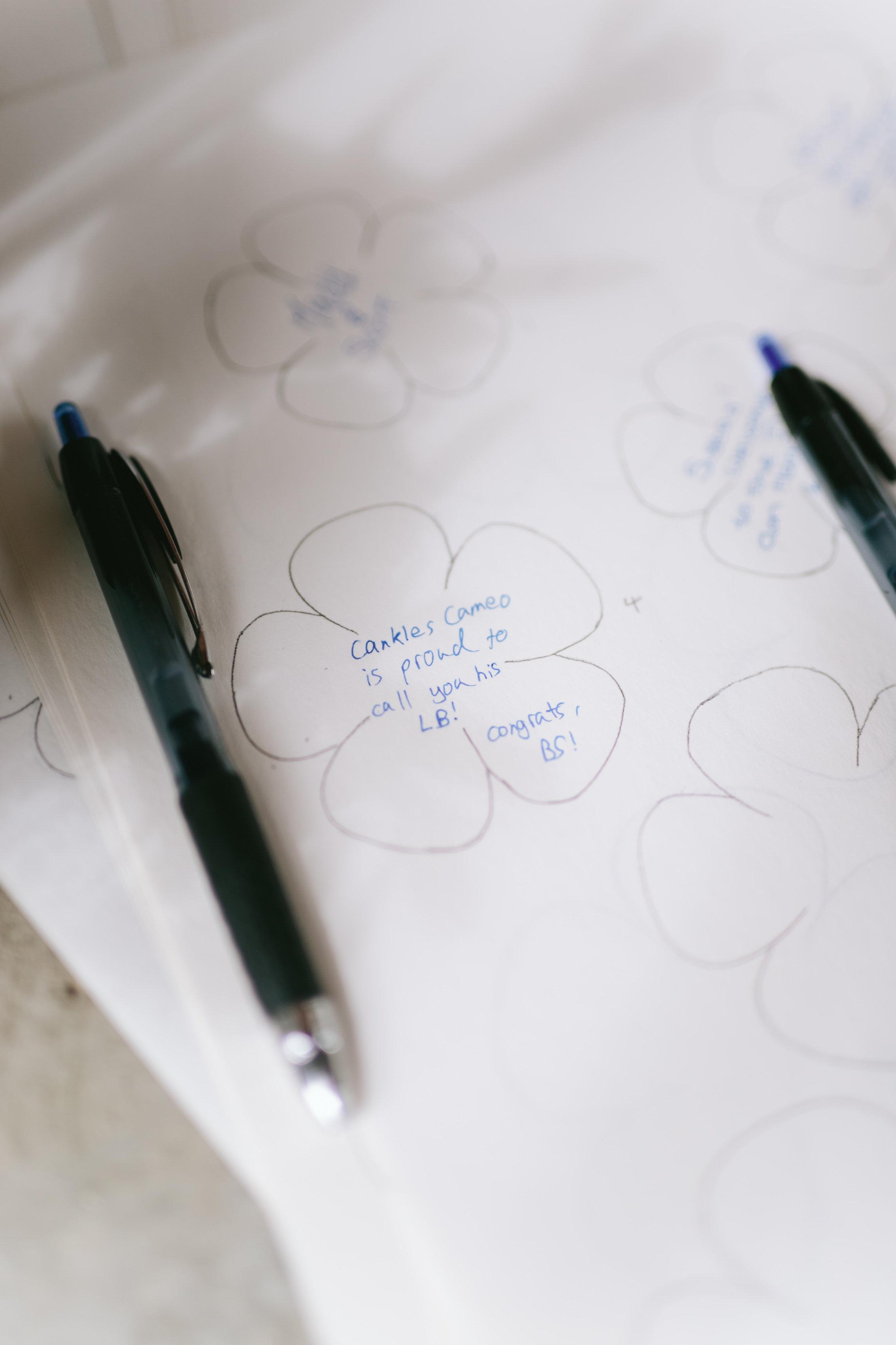 Wedding Decor - Guest Book Idea