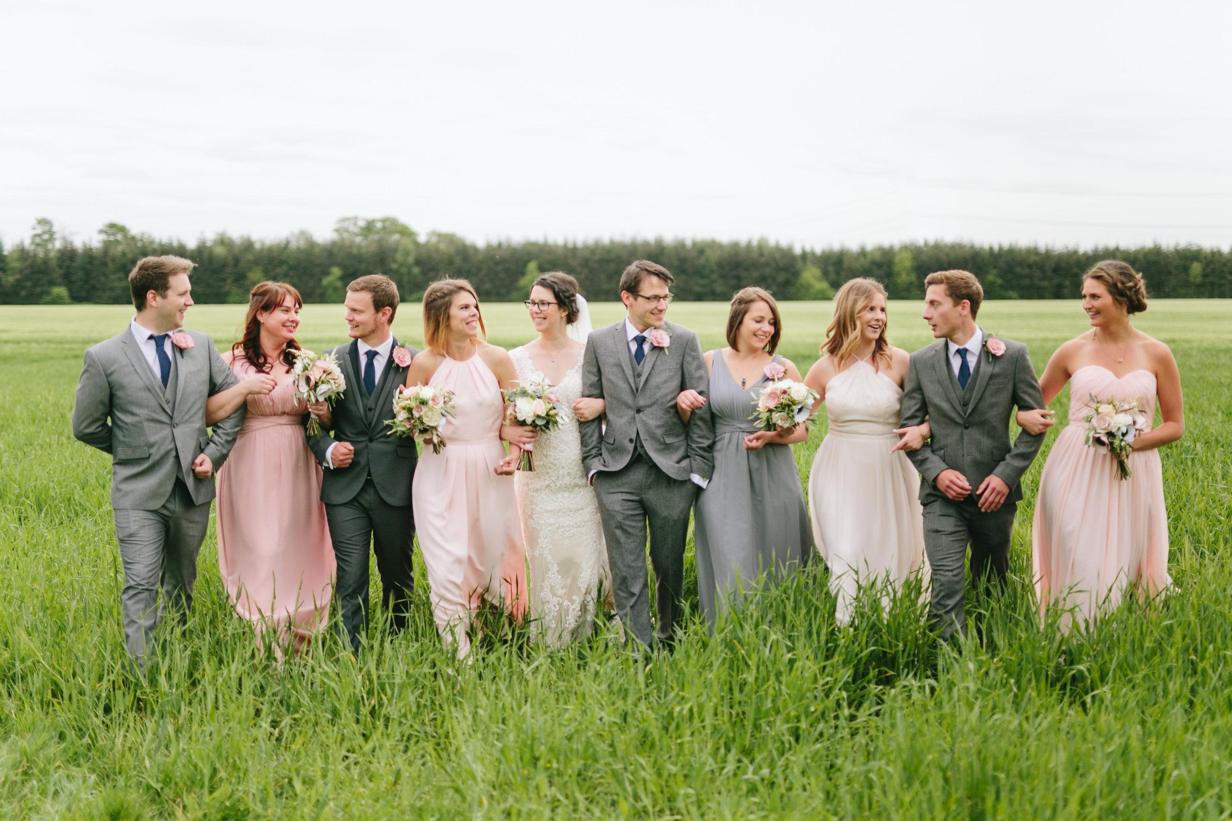 Mix & Match Bridal Party