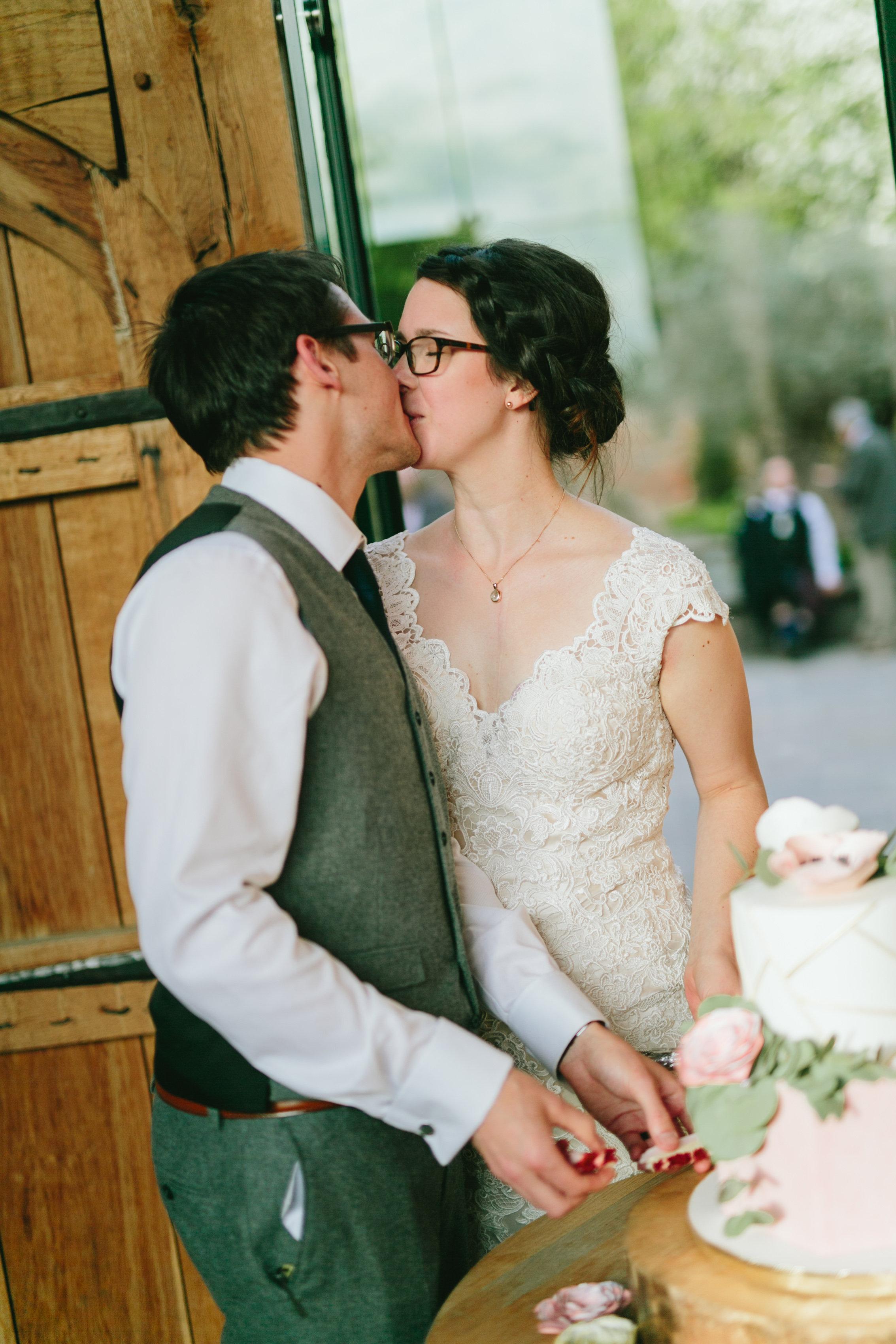Geometric Wedding Cake - Amerton Cakes