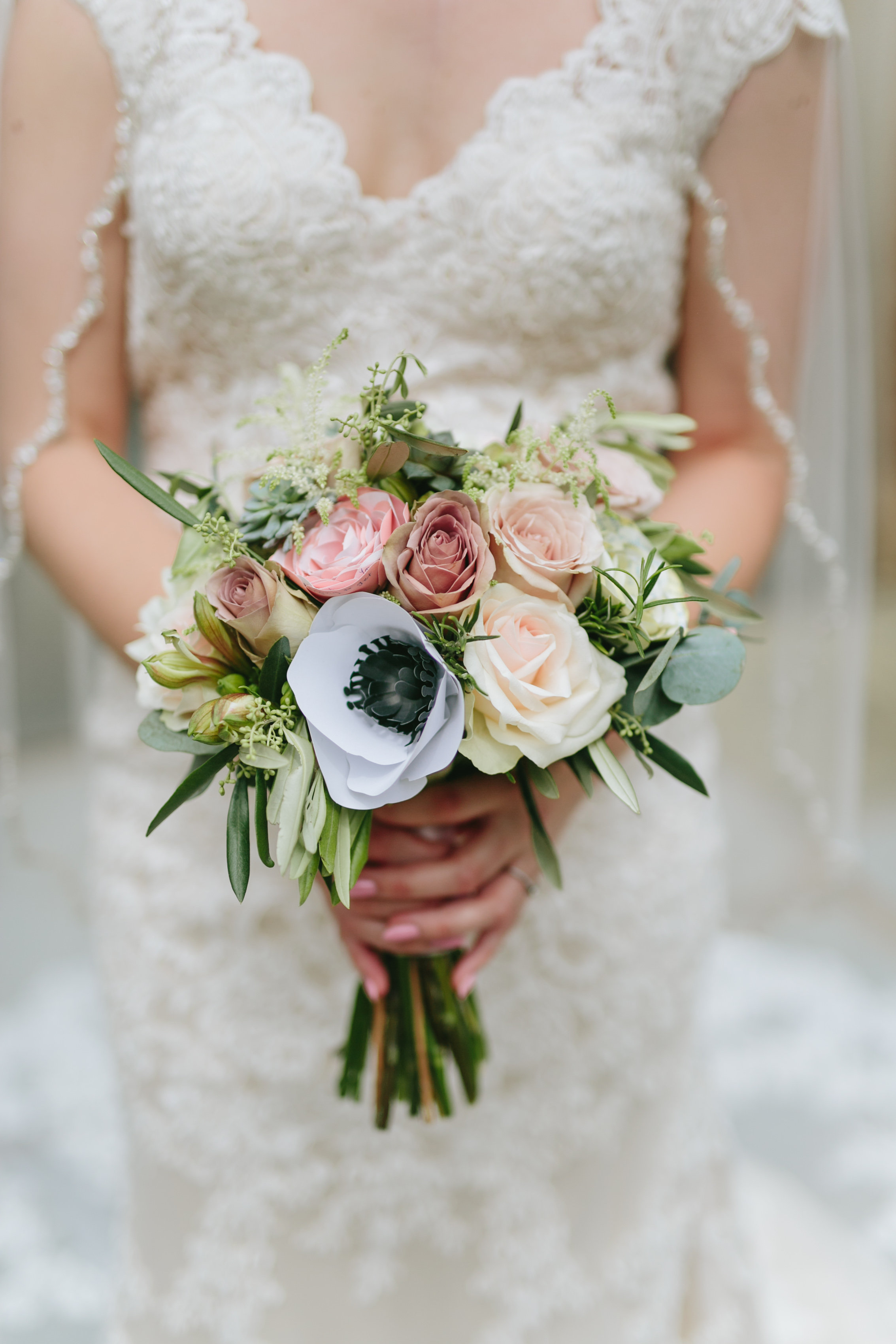 The Best Little Details from Our Wedding - How We Made Our Wedding Incredibly Personal - Crafting Wedding Flowers