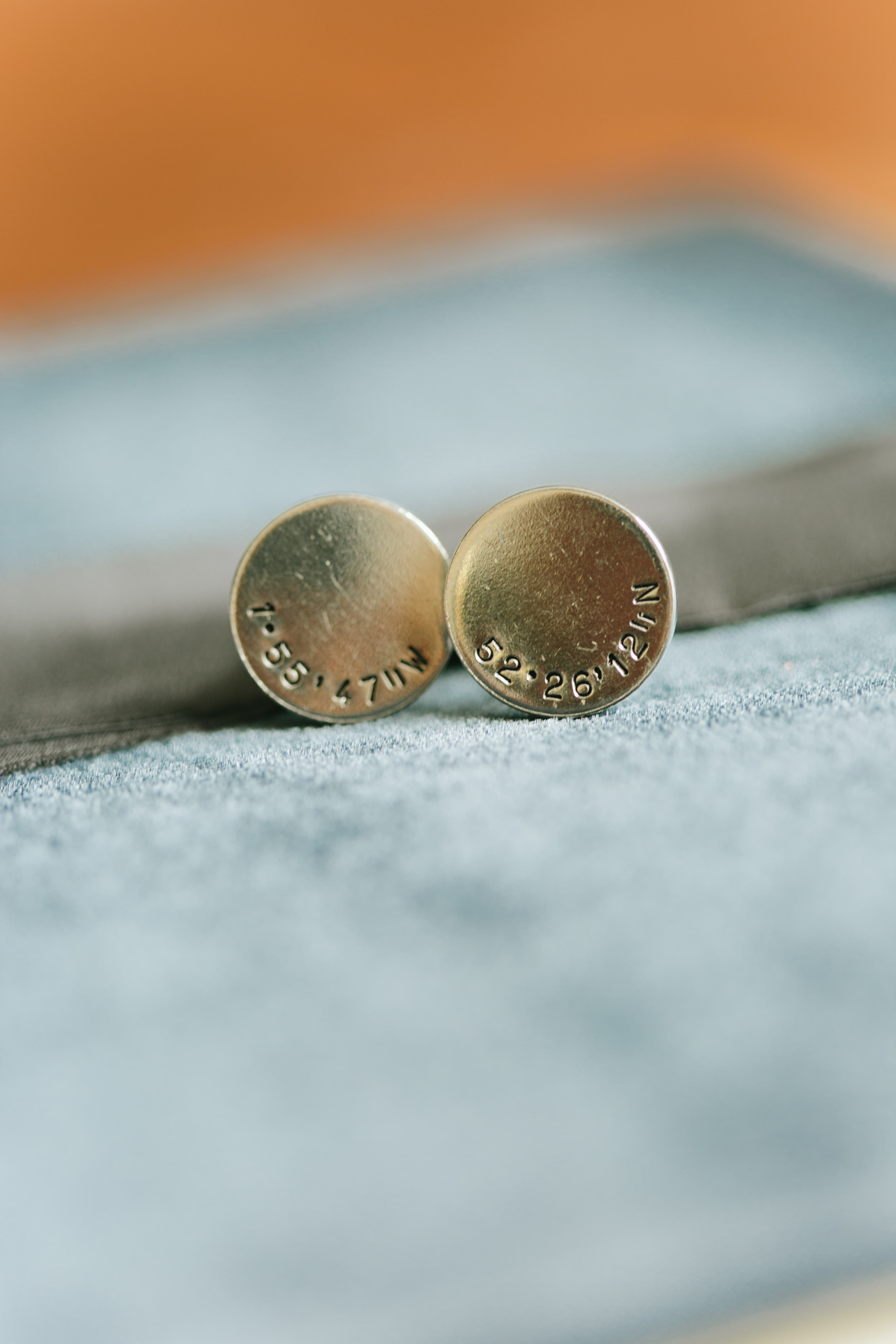 The Best Little Details from Our Wedding - How We Made Our Wedding Incredibly Personal - Cuff Links