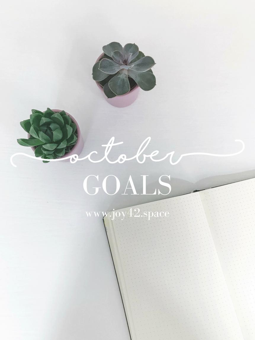 october-goals