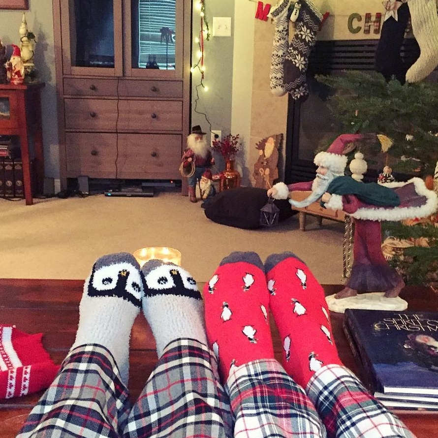 Christmas Bucket List - Christmas PJs & Socks