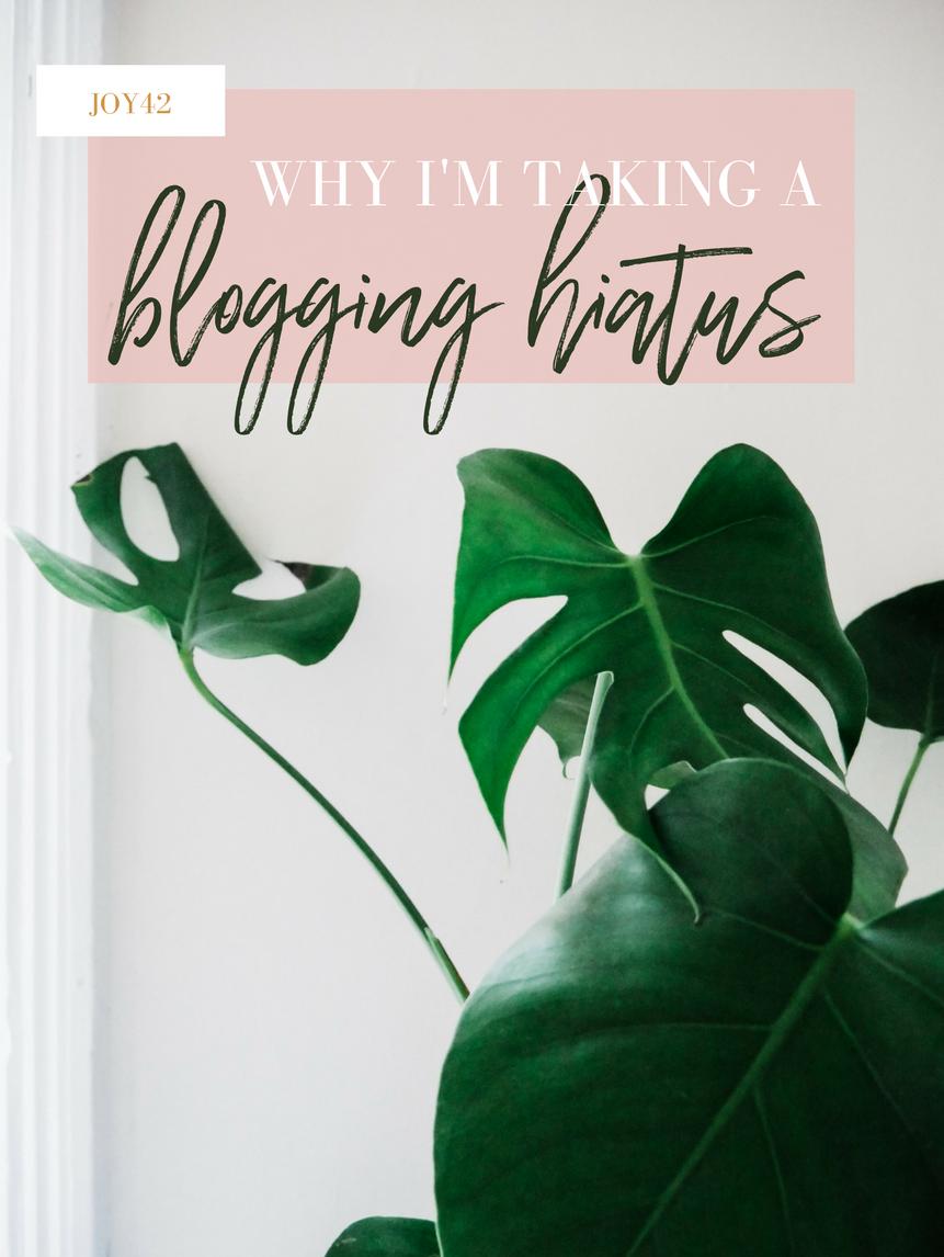blogging-hiatus