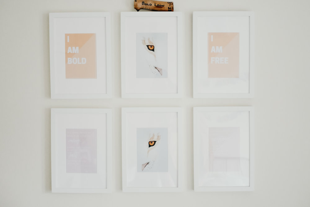 Traditional First Anniversary Paper Gift Ideas - Gallery Wall