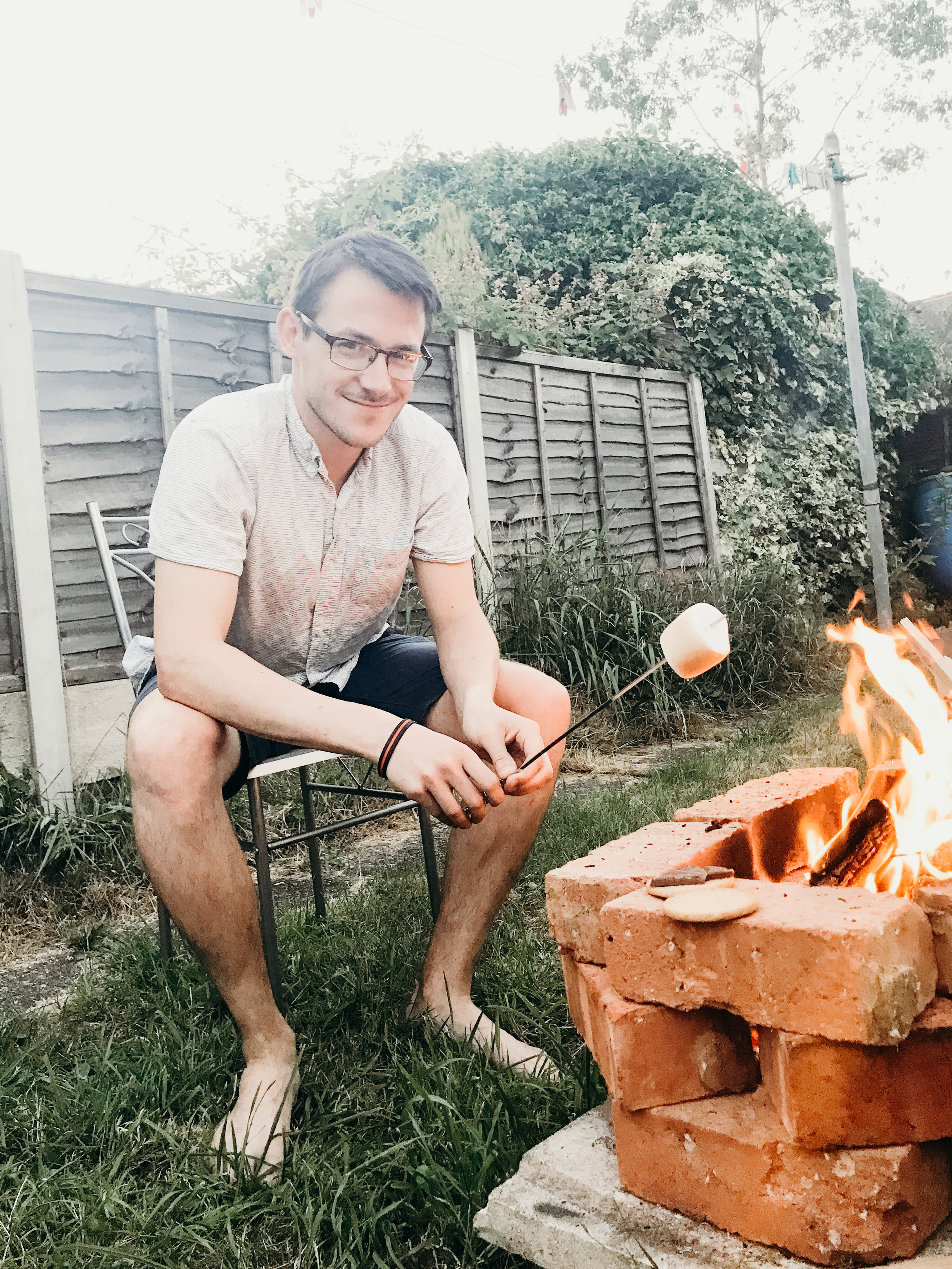 Summer 2018 Highlights - Fire Pit S'Mores