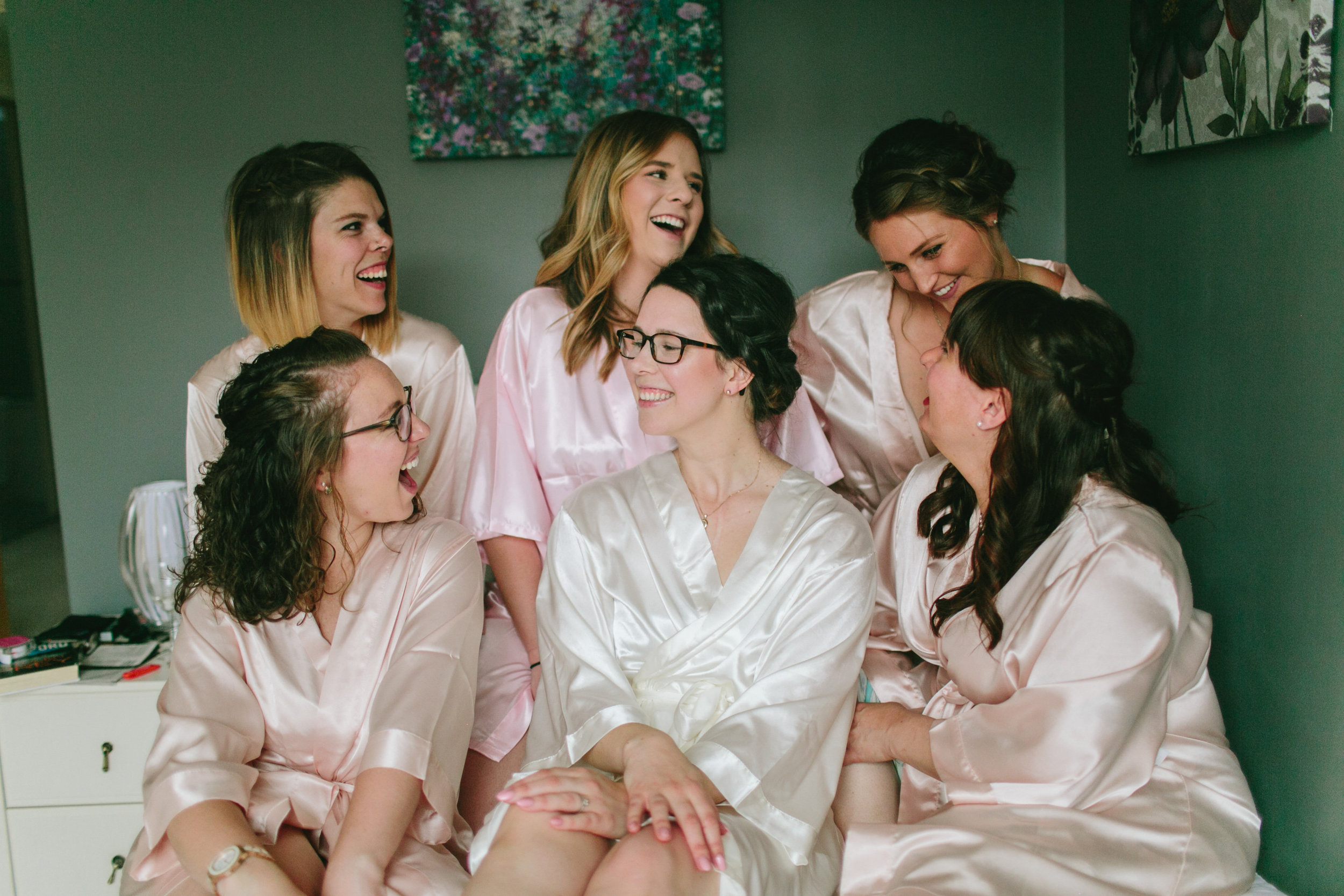 Bridesmaids - Brianne Haagenson Photography