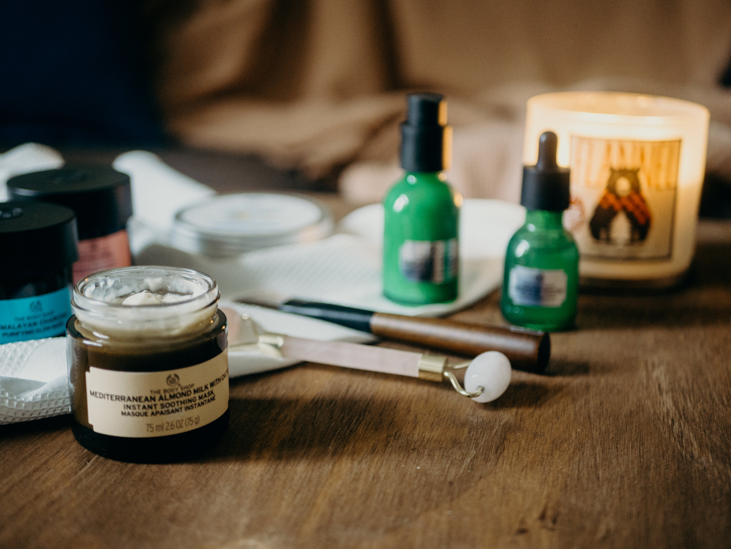 DIY At Home Spa Night - Everything you need to treat yourself at home