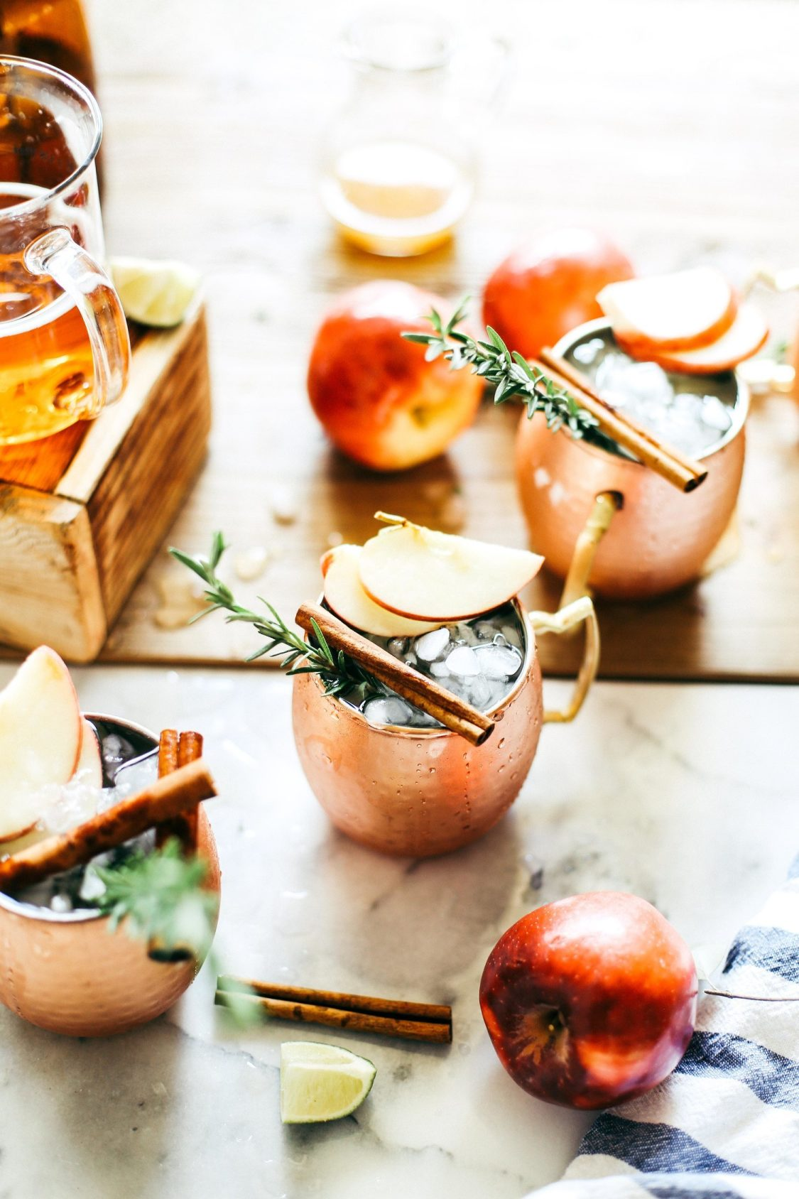 Harvest Moscow Mule Style Me Pretty