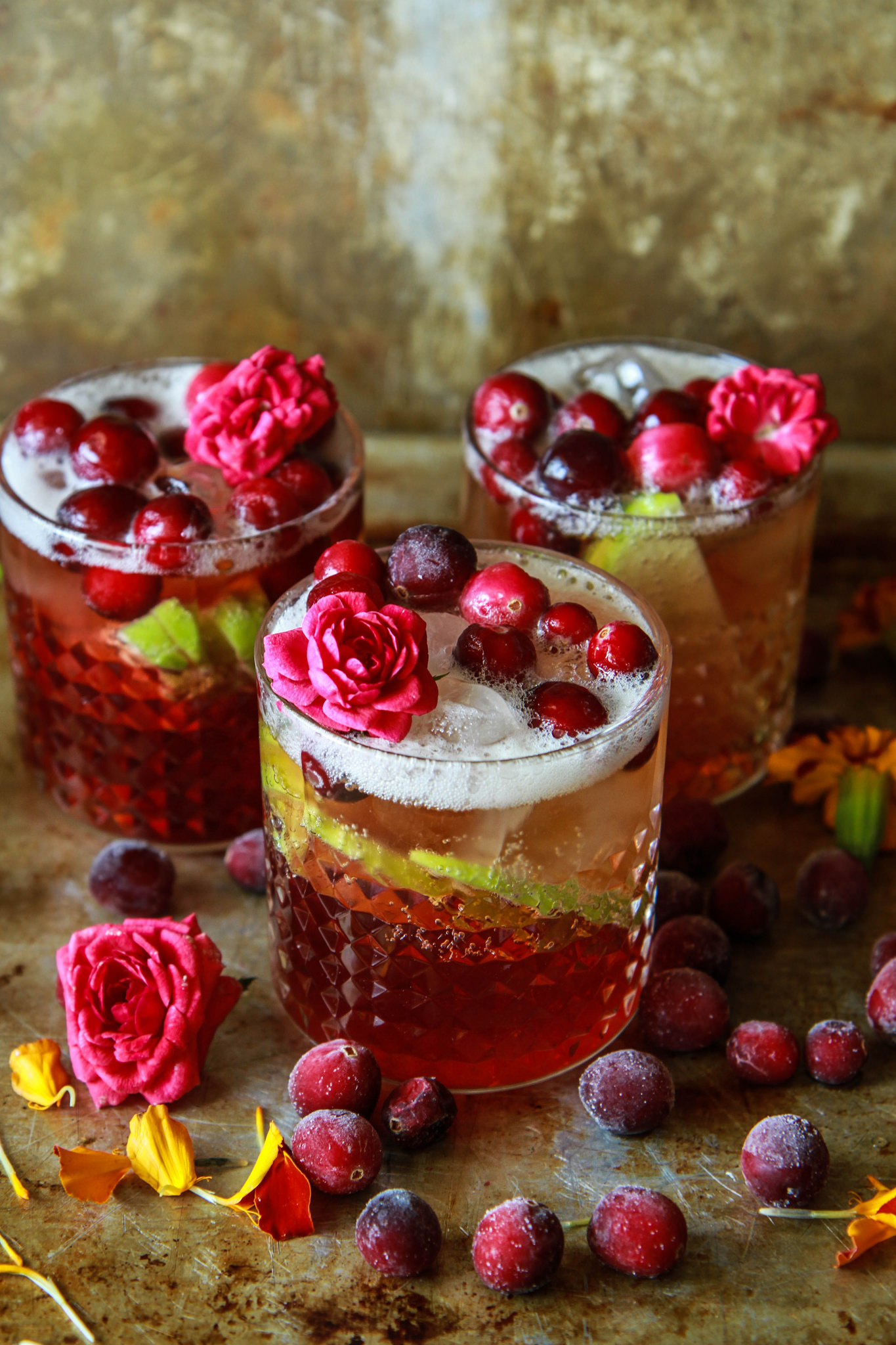 Apple Cranberry Moscow Mule Heather Christo