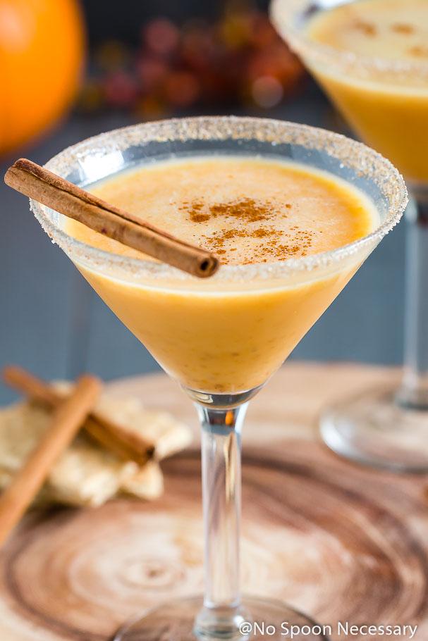 Pumpkin Pie Martini No Spoon Necessary