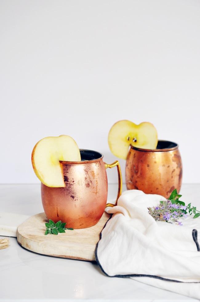 The Caramel Apple Cocktail Lark & Linen