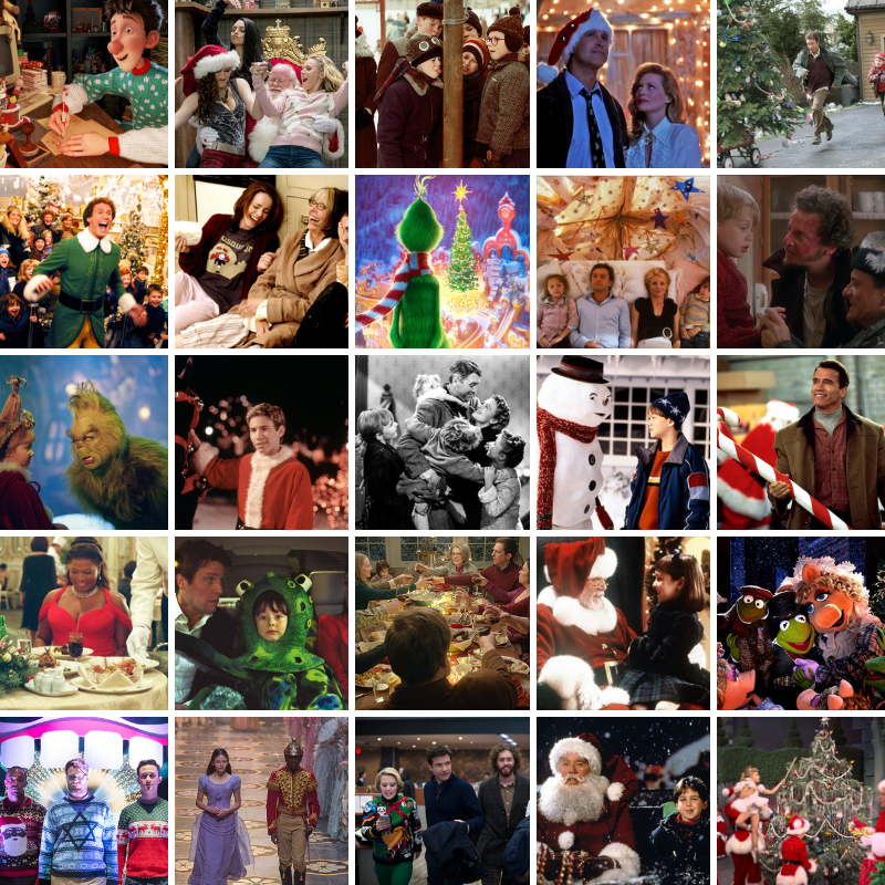 25 Days of Christmas Films