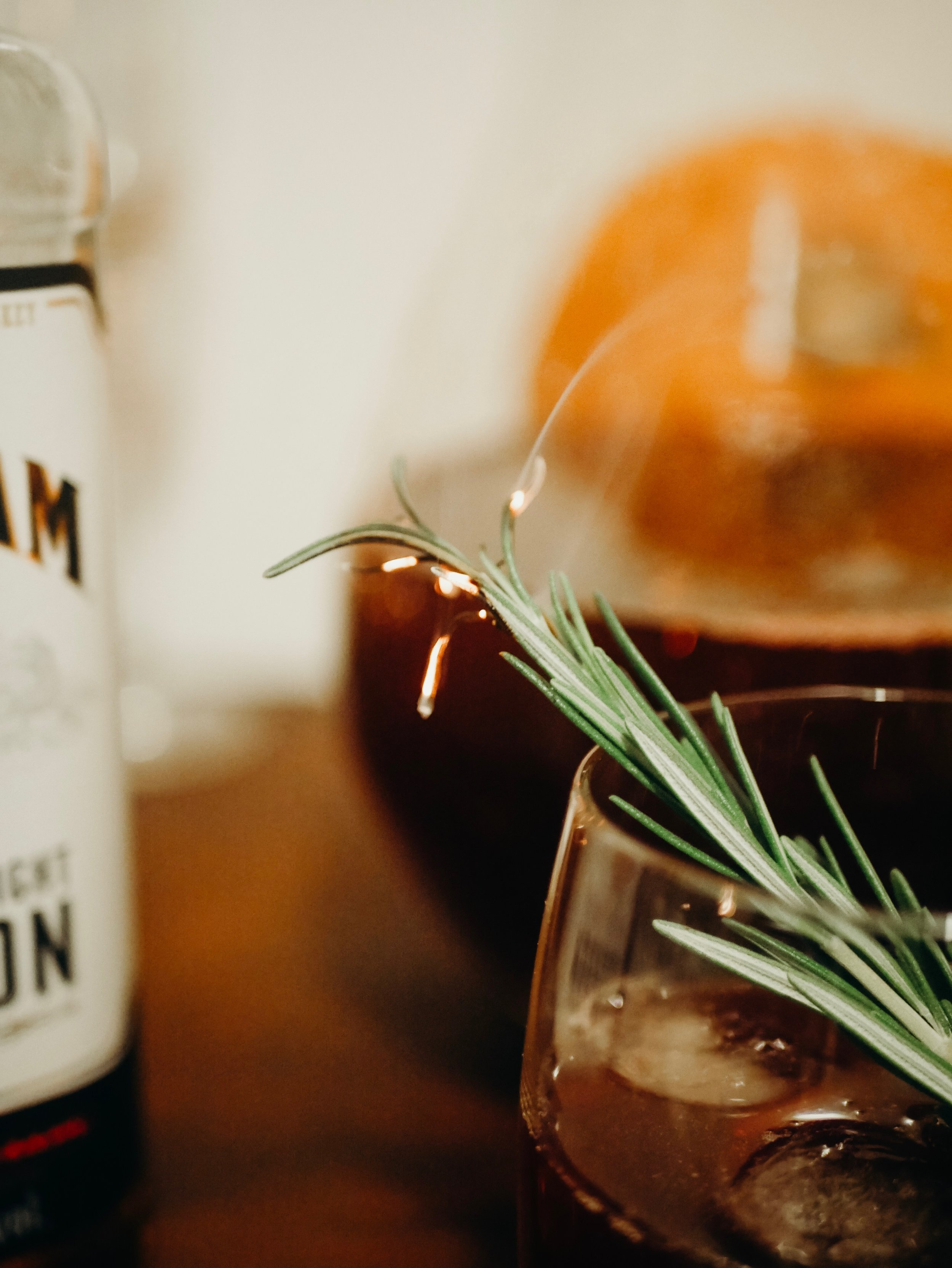 Smoky Blackberry Bourbon Punch from Lark & Linen
