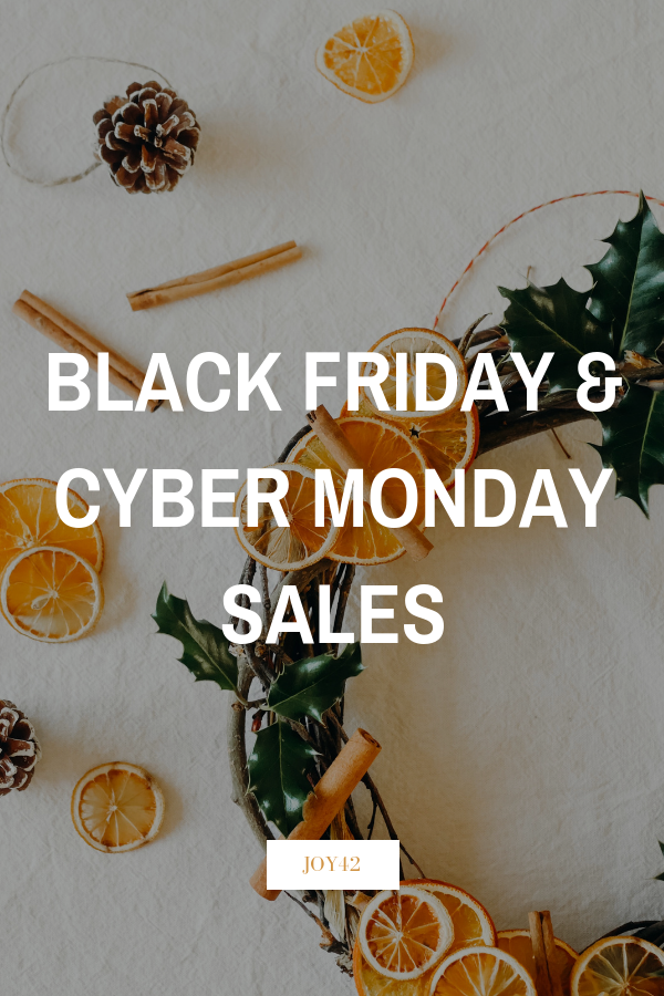 Black Friday & Cyber Monday Sales