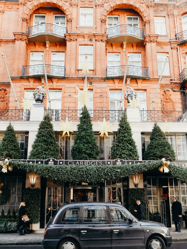 Christmas Bucket List - See the Decorations in London, Claridge's