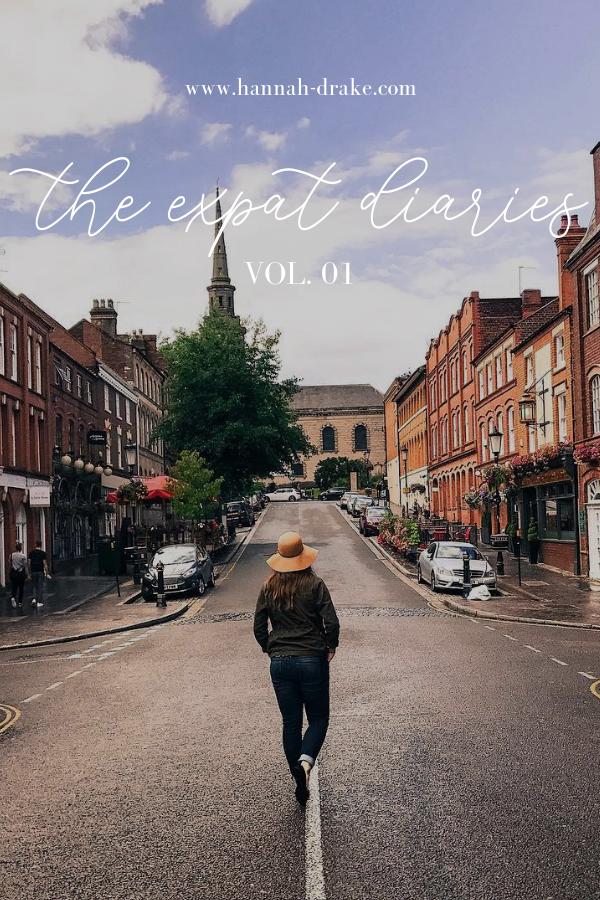 The Expat Diaries, Vol. 01 - Hannah Drake