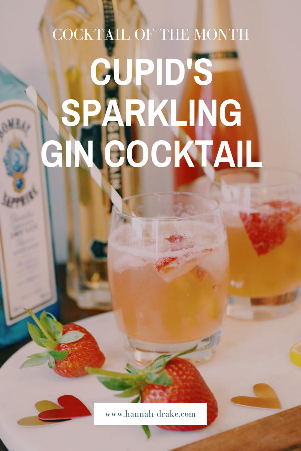 - The most popular post on the blog from this month was my first instalment of my new monthly series, Cocktail of the Month. I started with a Valentine's Day inspired cocktail with gin and sparkling rosé, two of my favourites! It's delicious and refreshing and perfect for any time of year or any occasion, not just Valentine's Day!